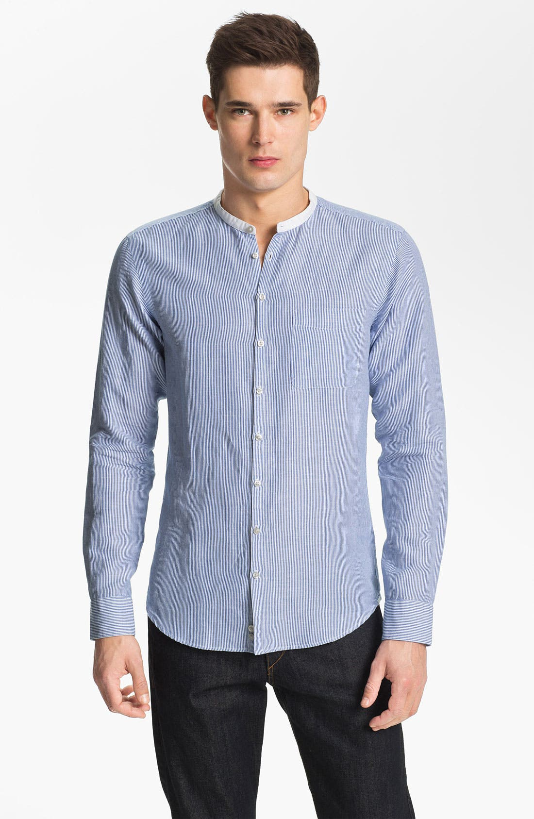 Main Image - Zegna Sport Tapered Fit Sport Shirt
