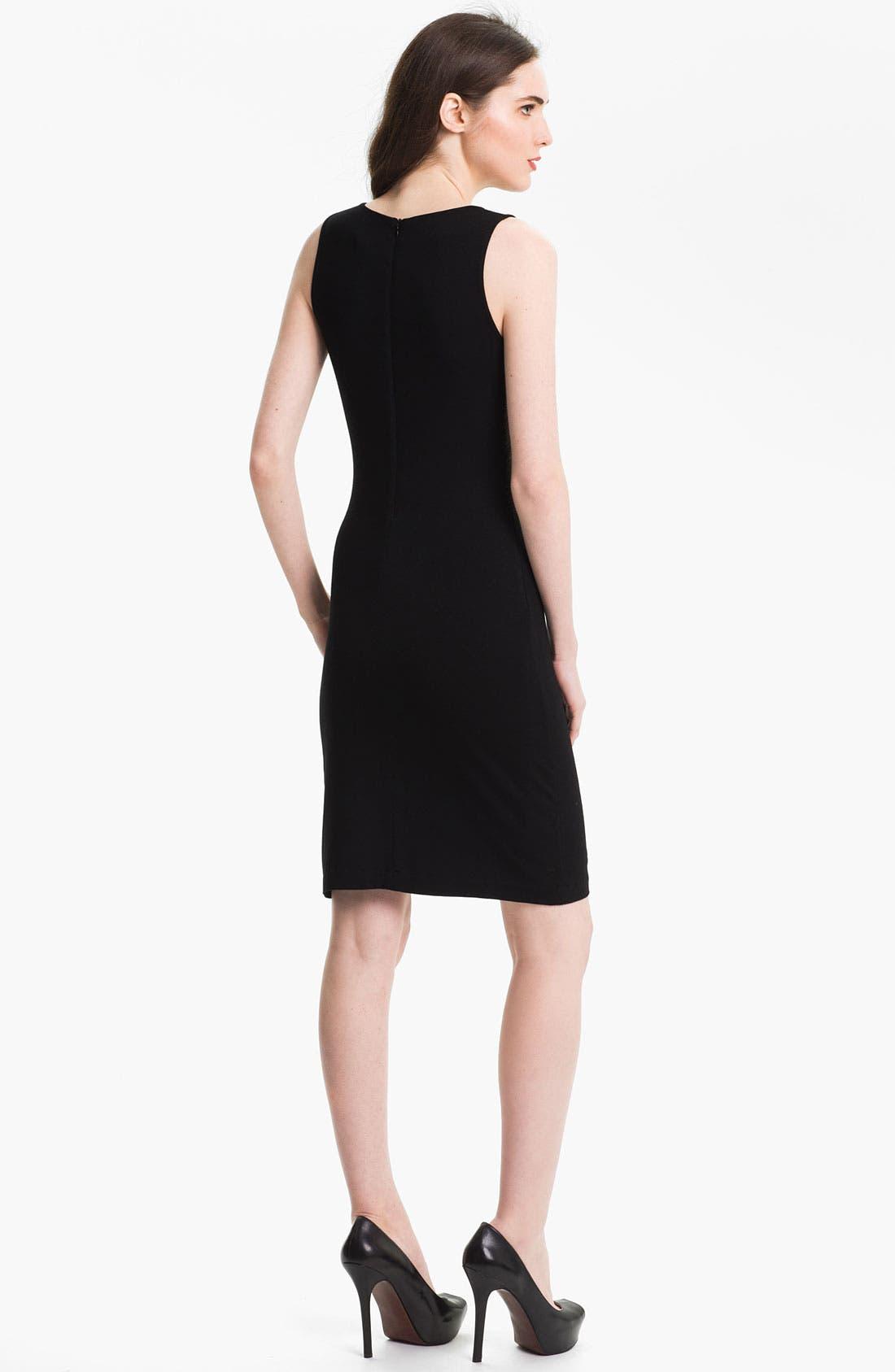 Alternate Image 2  - Karen Kane Sleeveless Contrast Dress