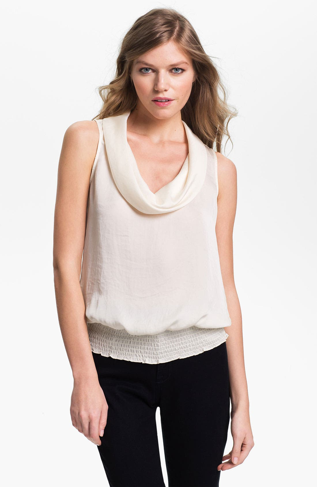 Alternate Image 1 Selected - MICHAEL Michael Kors Cowl Neck Sleeveless Blouse