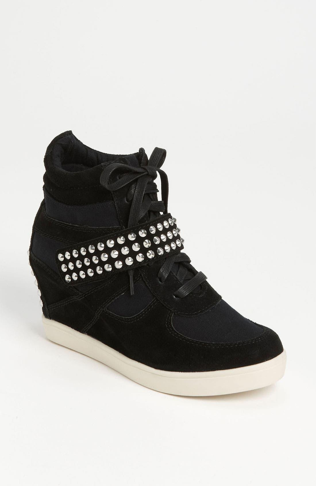Alternate Image 1 Selected - Steve Madden 'Olympa-S' Wedge Sneaker