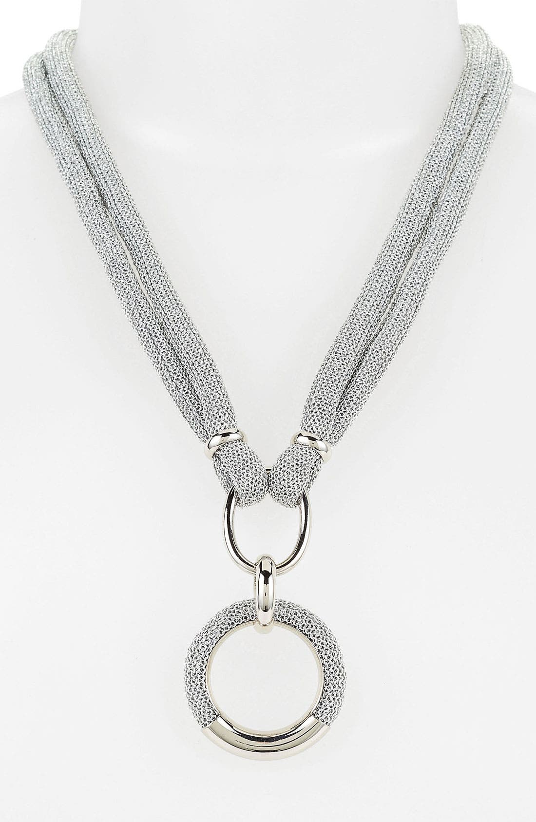 Alternate Image 1 Selected - Adami & Martucci 'Mesh' Pendant Necklace (Nordstrom Exclusive)