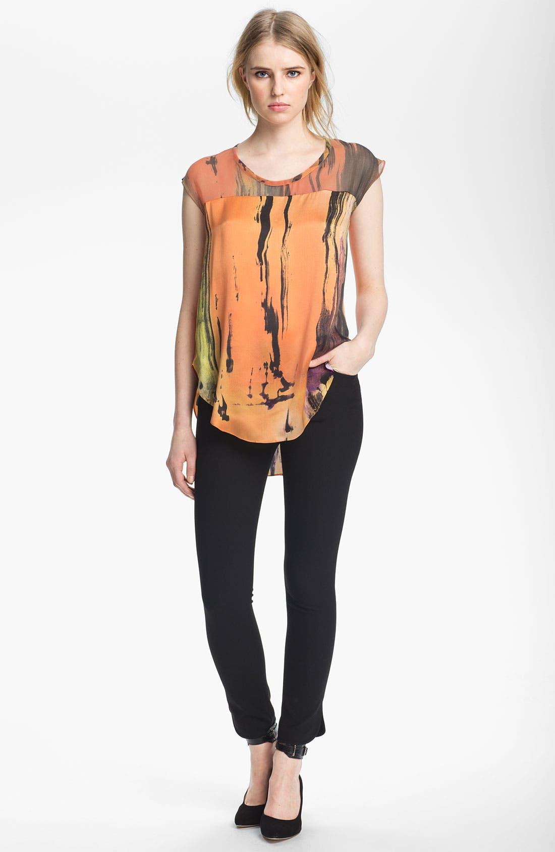 Alternate Image 1 Selected - Elizabeth and James 'Kari' Print Silk Top