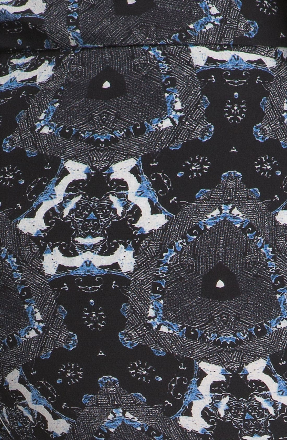 Alternate Image 5  - A.L.C. 'Jasper' Print Silk Pants