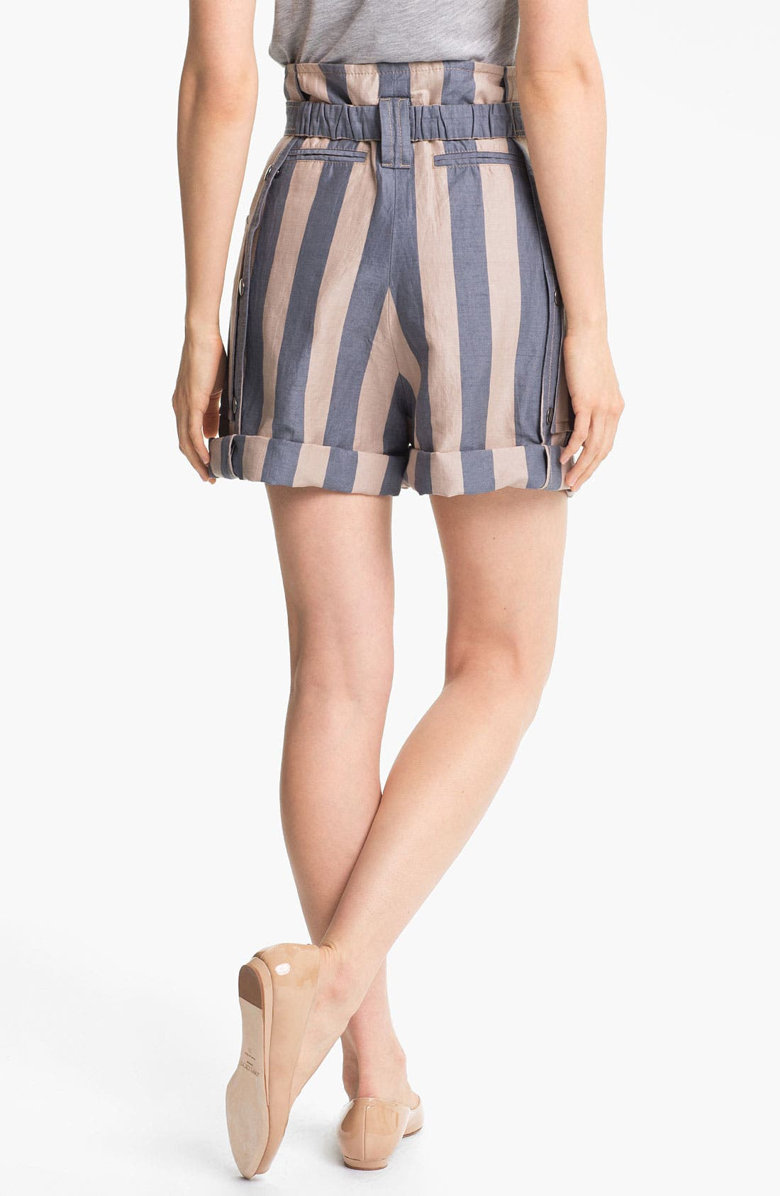 Alternate Image 2  - MARC BY MARC JACOBS 'Debbie' Stripe Cuffed Shorts