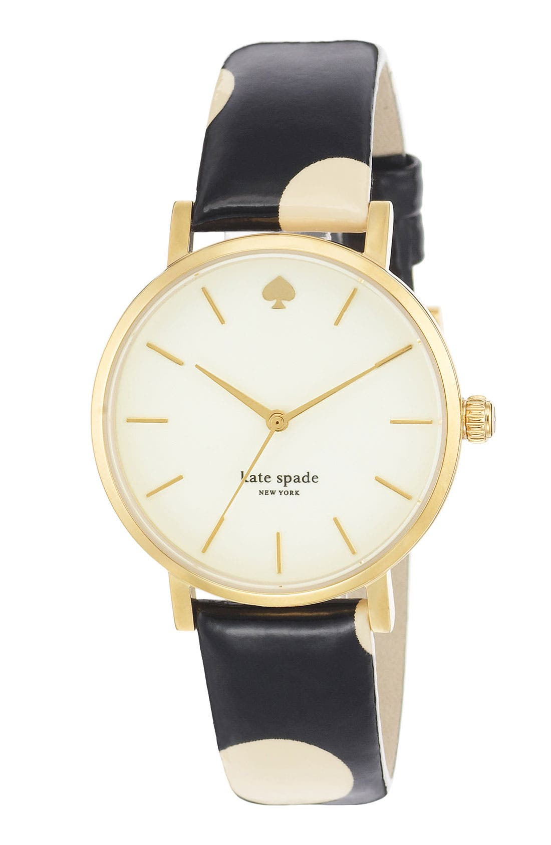 Alternate Image 2  - kate spade new york 'metro' polka dot strap watch, 34mm