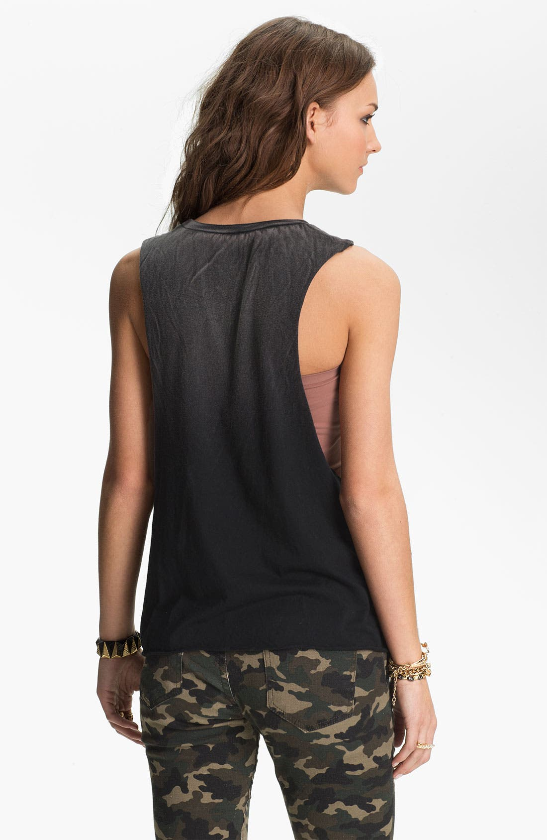 Alternate Image 2  - Project Social T 'Skull' Graphic Tunic Tank (Juniors)