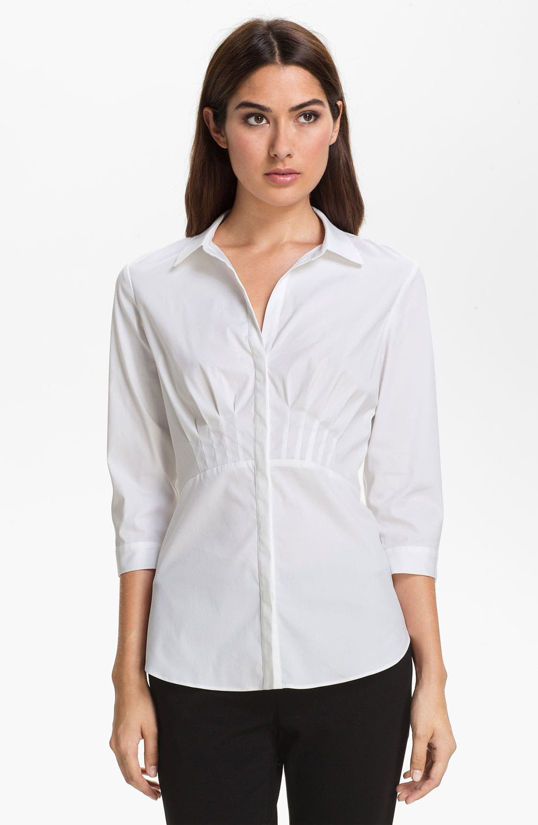 Alternate Image 1 Selected - Lafayette 148 New York 'Sabrina' Blouse