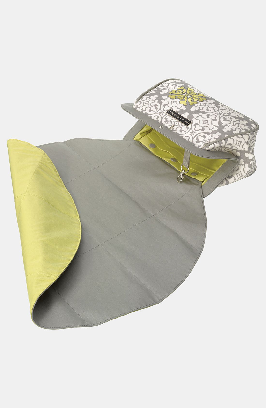 Alternate Image 2  - Petunia Pickle Bottom 'Crosstown' Glazed Clutch Diaper Bag