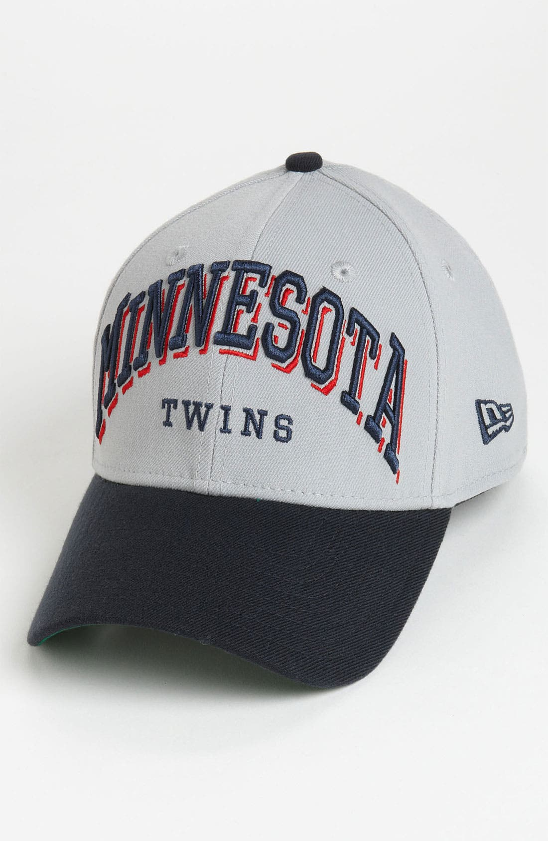 Alternate Image 1 Selected - New Era Cap 'Minnesota Twins - Arch Mark' Fitted Baseball Cap
