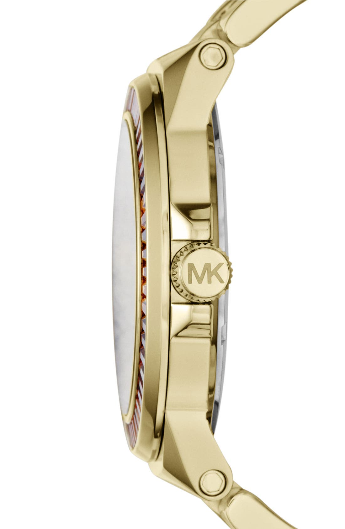 Alternate Image 2  - Michael Kors 'Gramercy' Round Bracelet Watch, 45mm