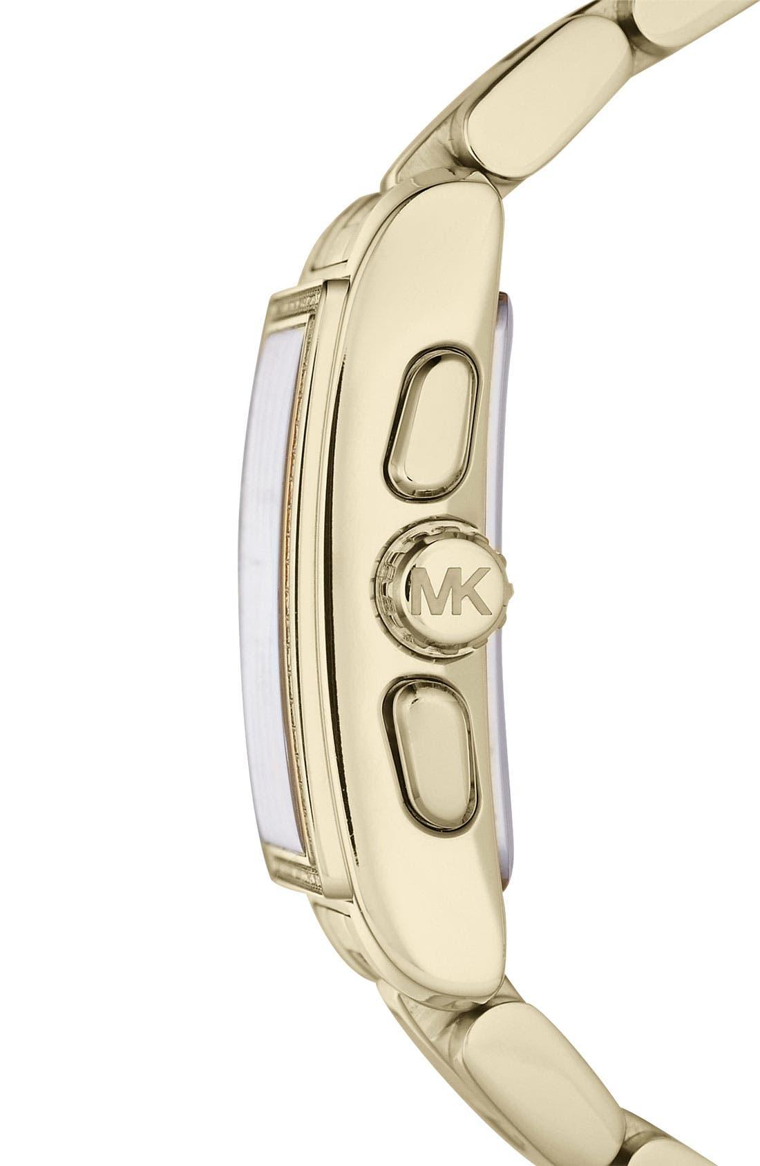 Alternate Image 2  - Michael Kors 'Gia' Chronograph Bracelet Watch