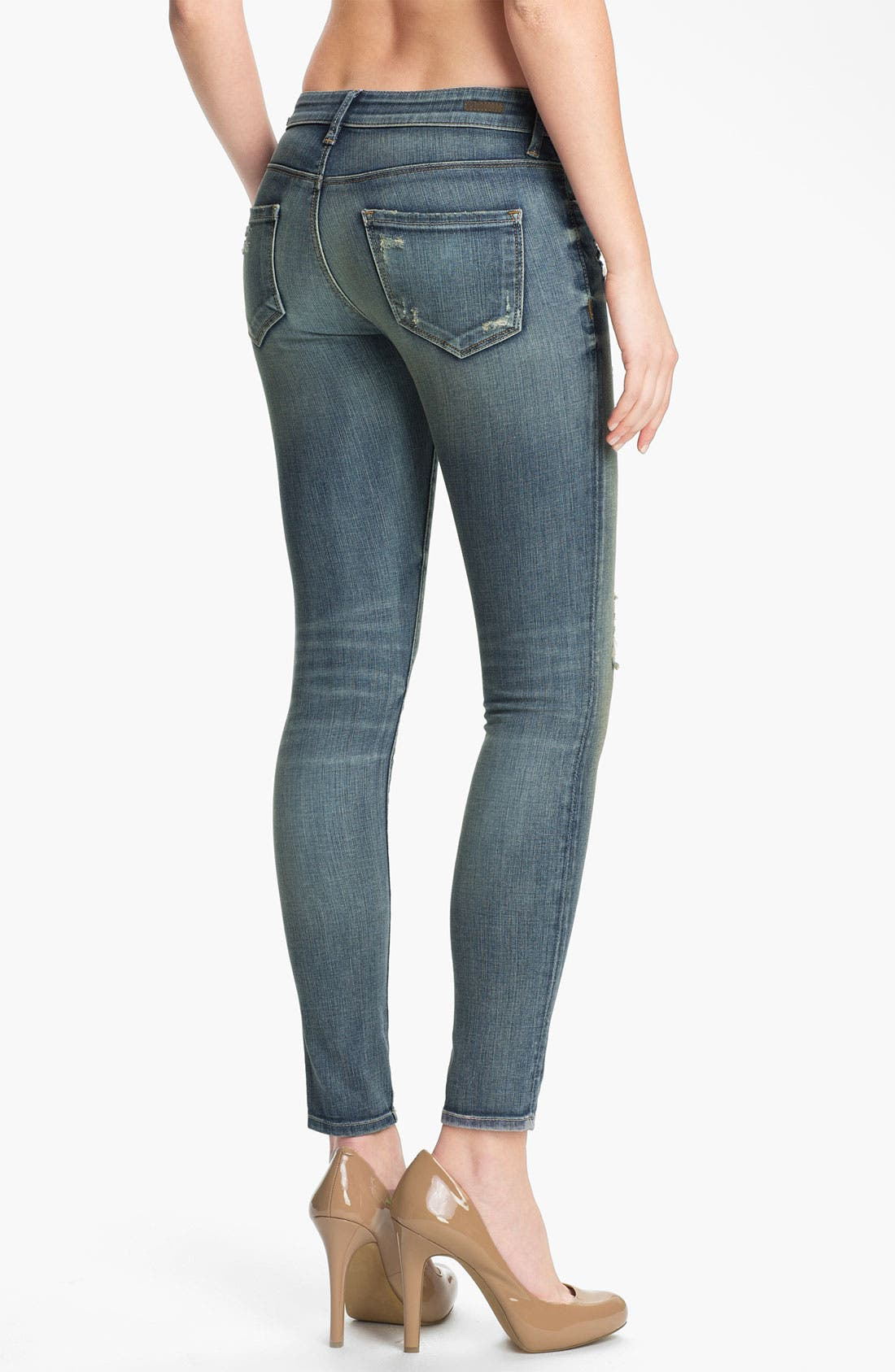 Alternate Image 2  - KUT from the Kloth 'Brigitte' Skinny Ankle Jeans (Escape)