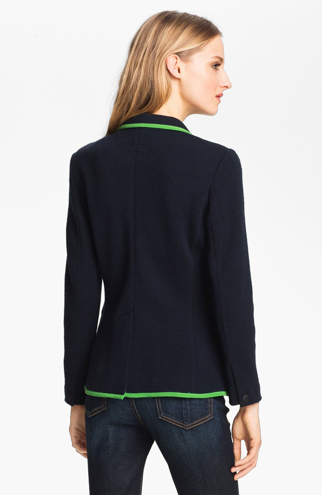 Alternate Image 3  - rag & bone 'Bromley' Contrast Trim Wool Blazer