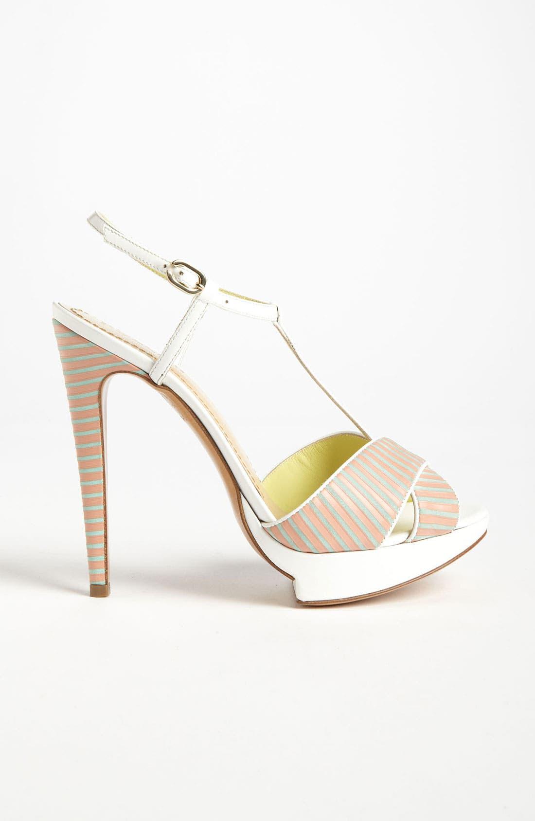 Alternate Image 4  - Pollini Stripe Sandal