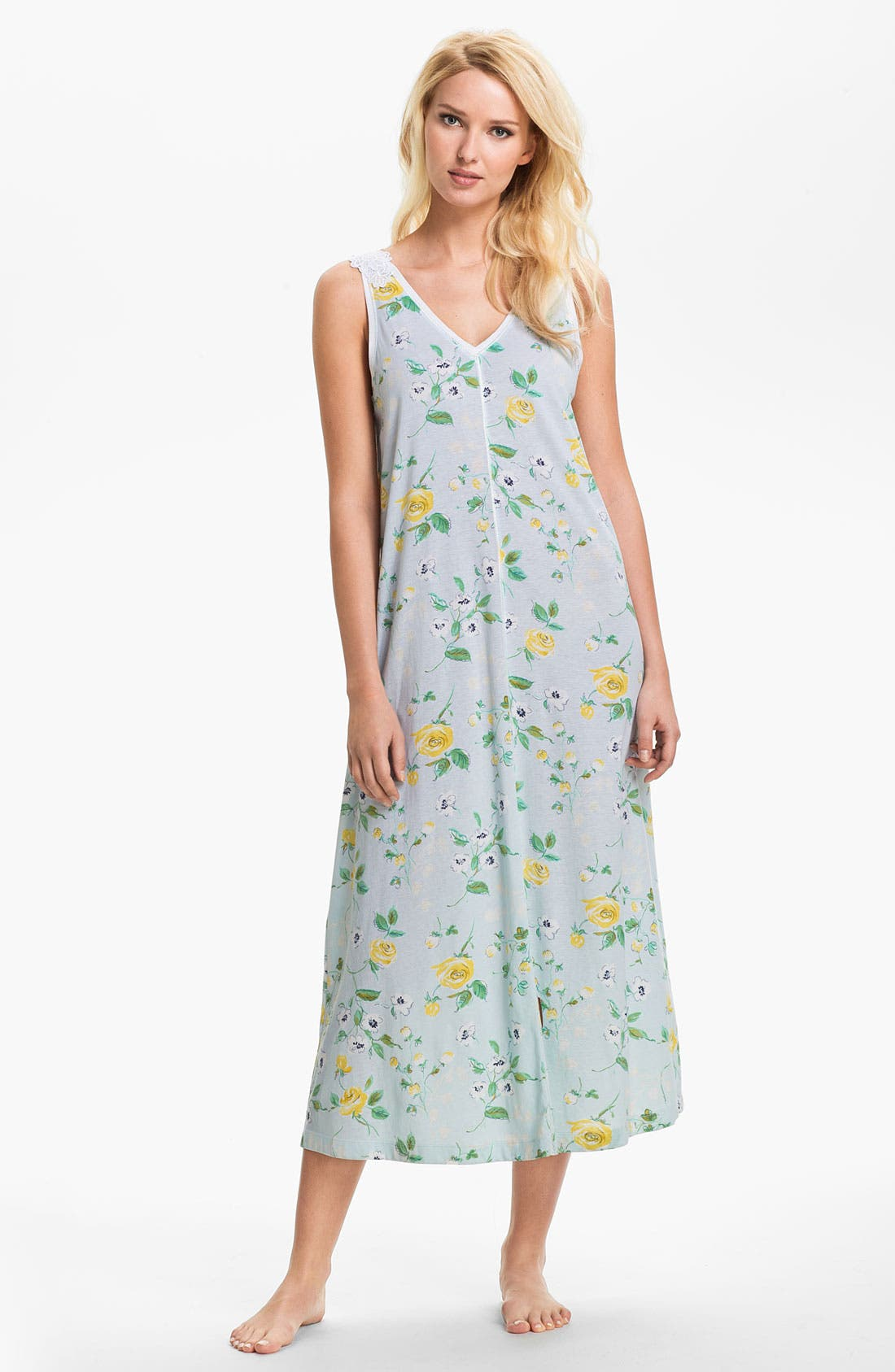 Main Image - Carole Hochman Designs Sleeveless Nightgown