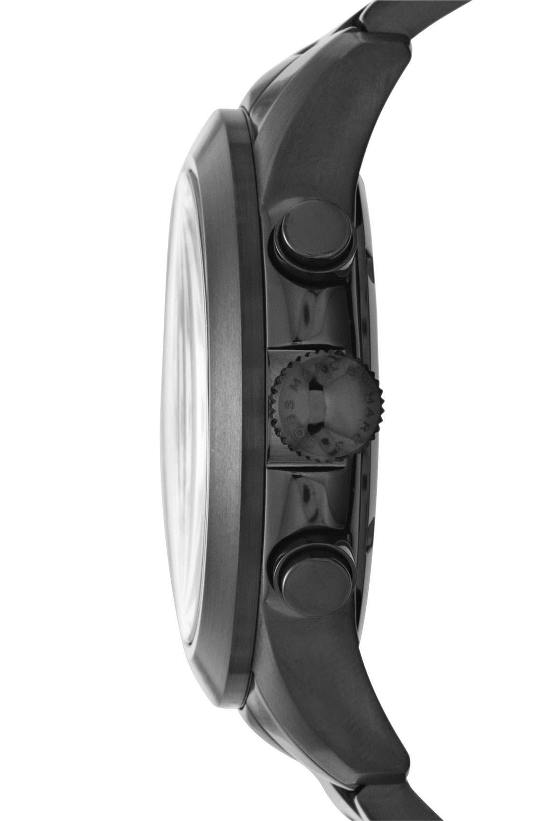 Alternate Image 2  - MARC BY MARC JACOBS 'Larry' Chronograph Bracelet Watch, 46mm
