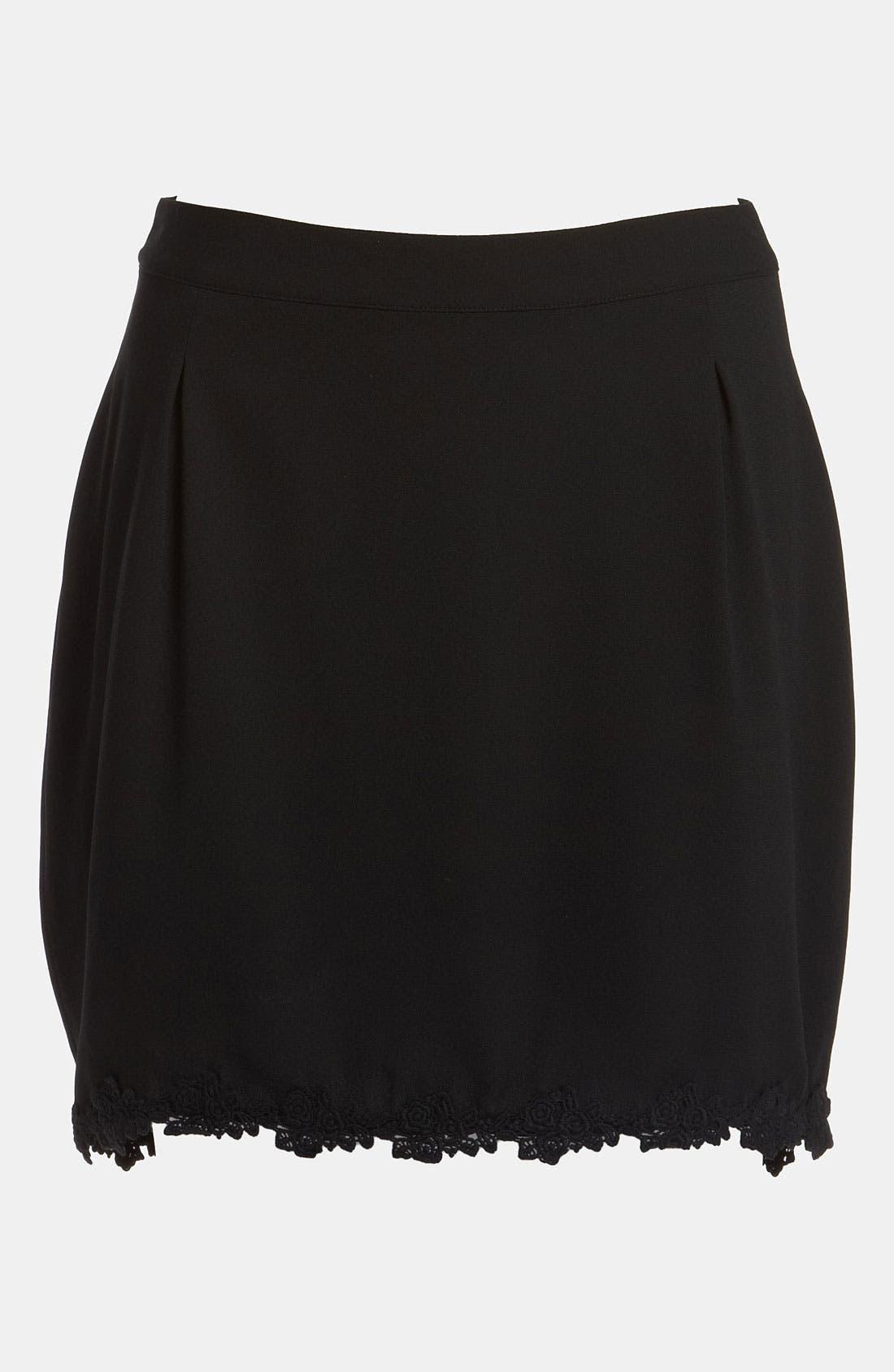 Alternate Image 1 Selected - Tildon 'Bustle' High/Low Skirt