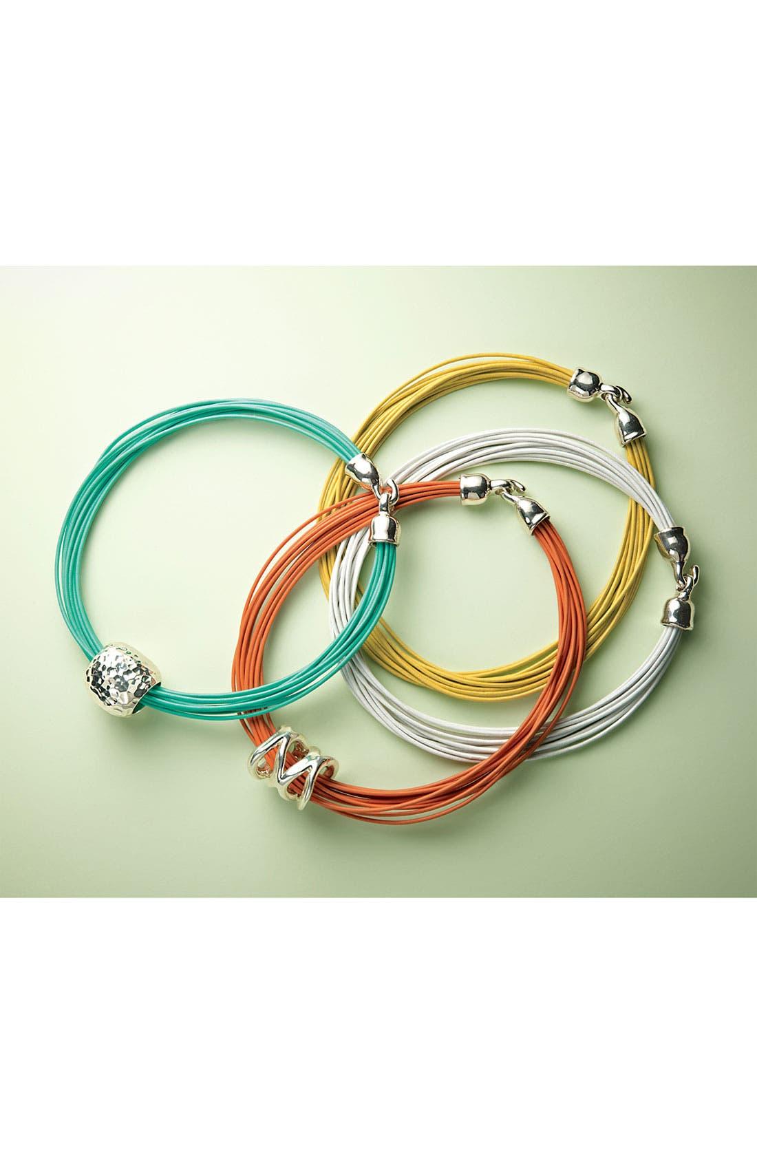 Alternate Image 2  - Simon Sebbag Multistrand Leather Necklace