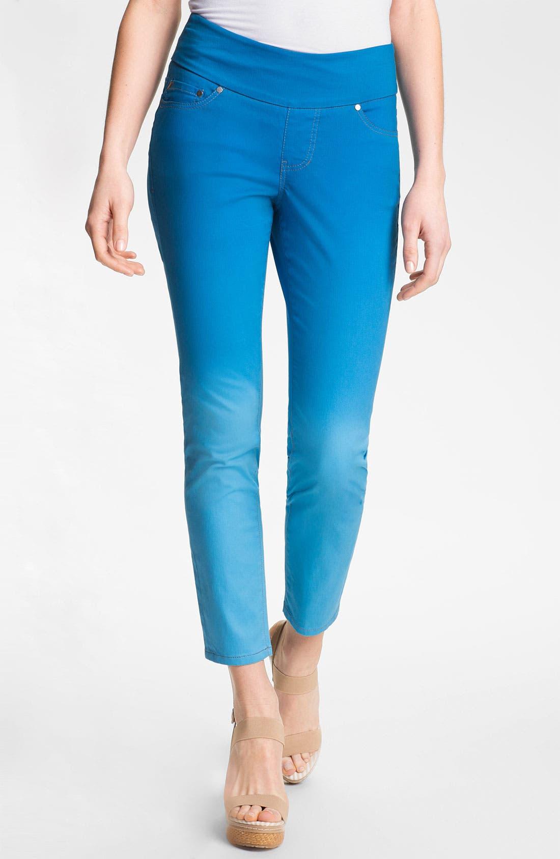 Alternate Image 1 Selected - Jag Jeans 'Amelia' Pull-On Slim Ankle Jeans