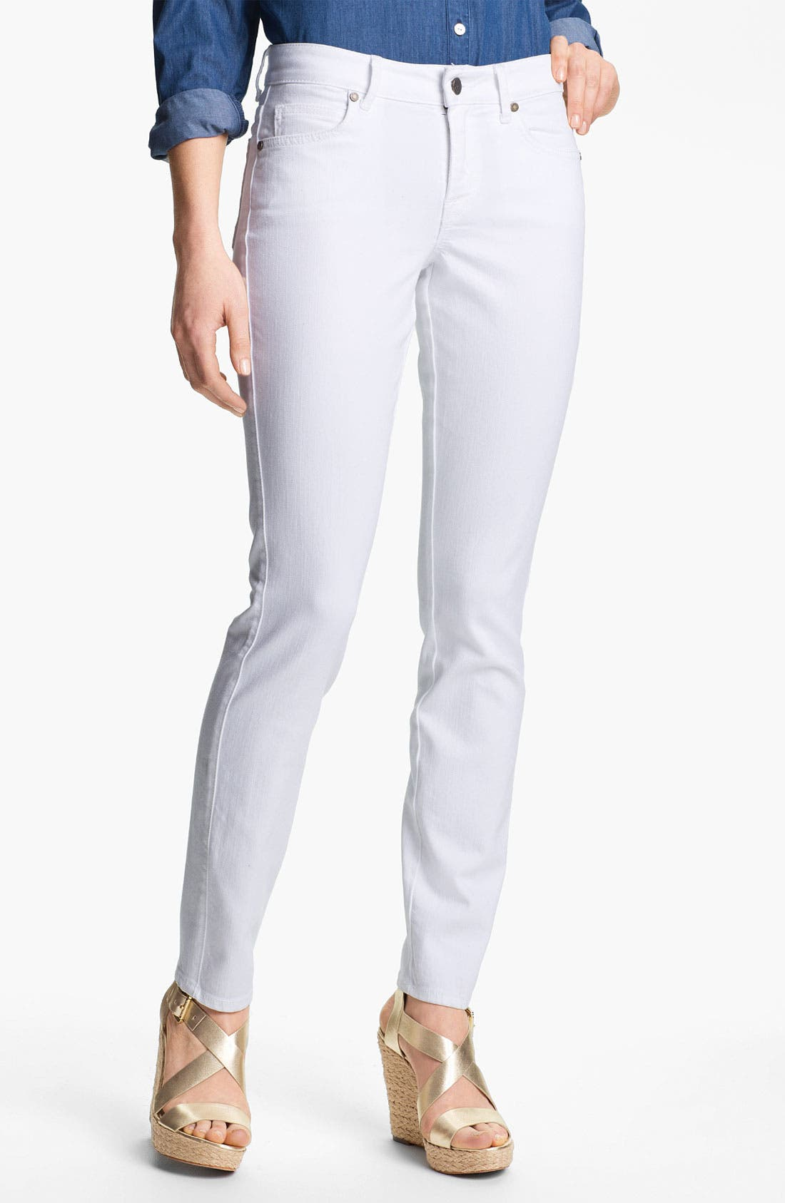 Main Image - CJ by Cookie Johnson 'Peace' Skinny Jeans