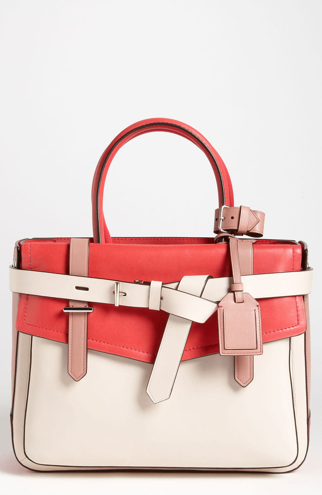 Alternate Image 1 Selected - Reed Krakoff 'Boxer' Colorblock Leather Satchel