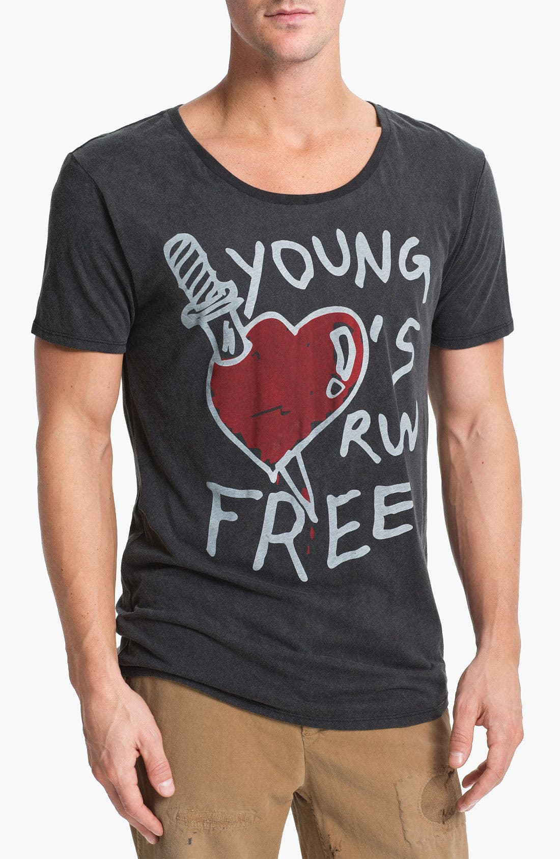 Alternate Image 1 Selected - Vanguard 'Young Hearts Run Free' Graphic T-Shirt