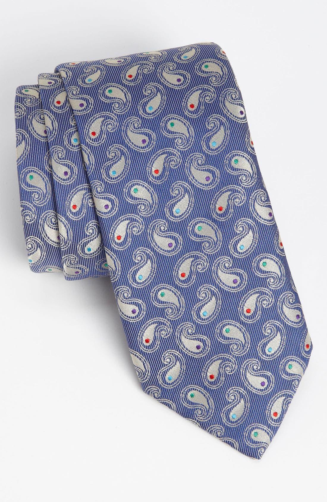 Main Image - Thomas Pink 'Orlando Paisley' Woven Silk Tie