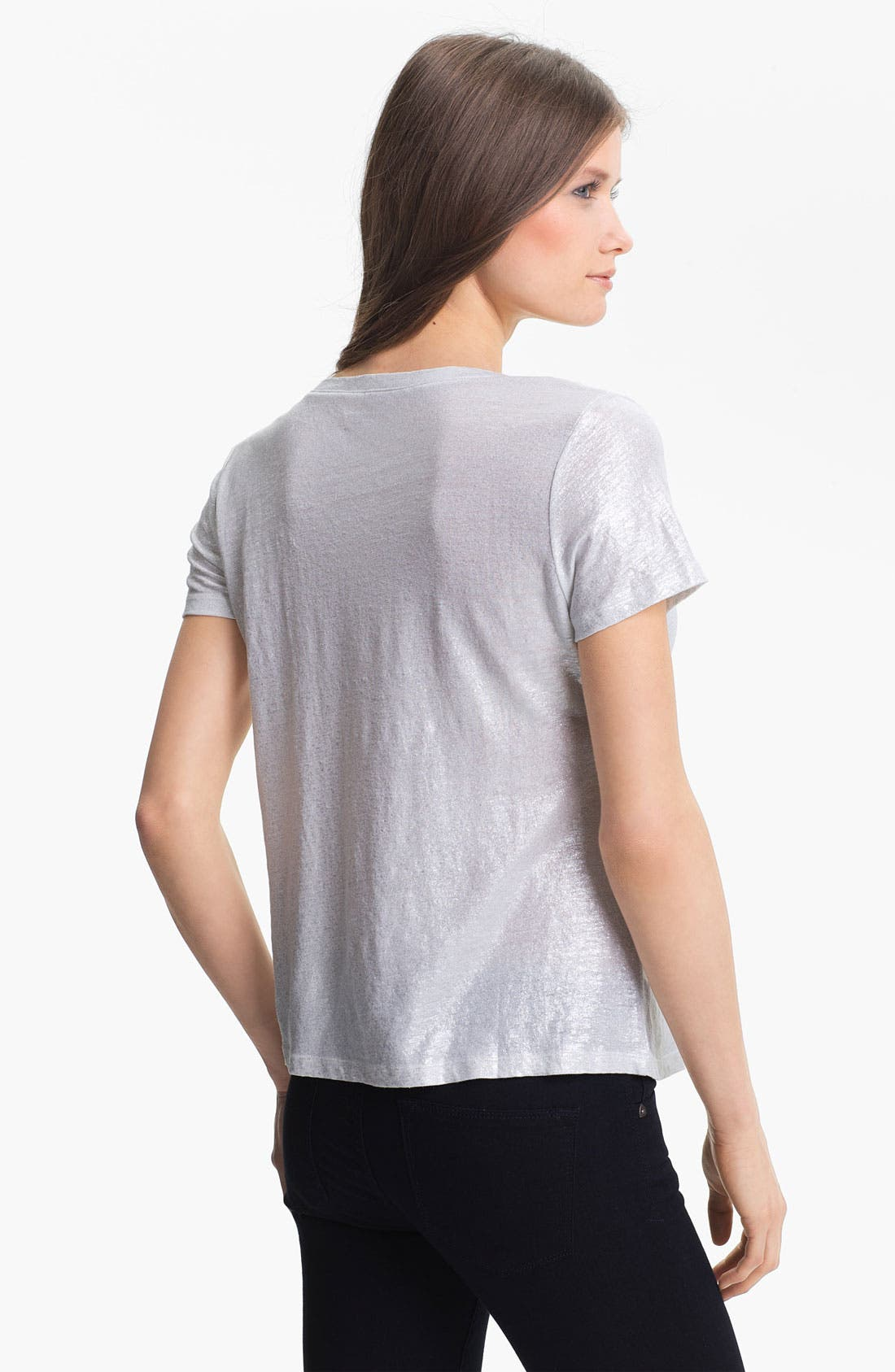 Alternate Image 2  - Eileen Fisher V-Neck Easy Tee