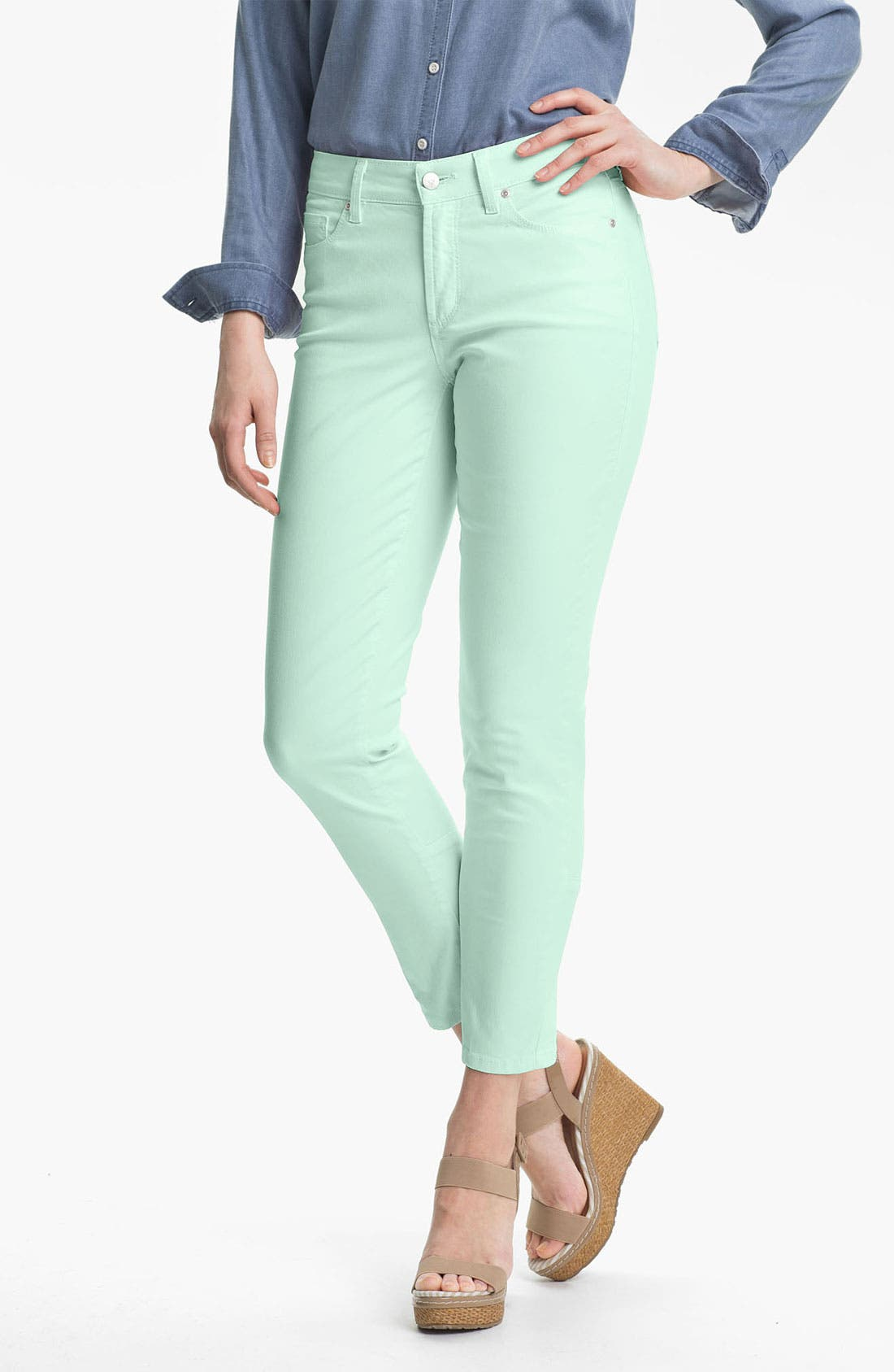 Main Image - NYDJ 'Jill' Fitted Ankle Jeans