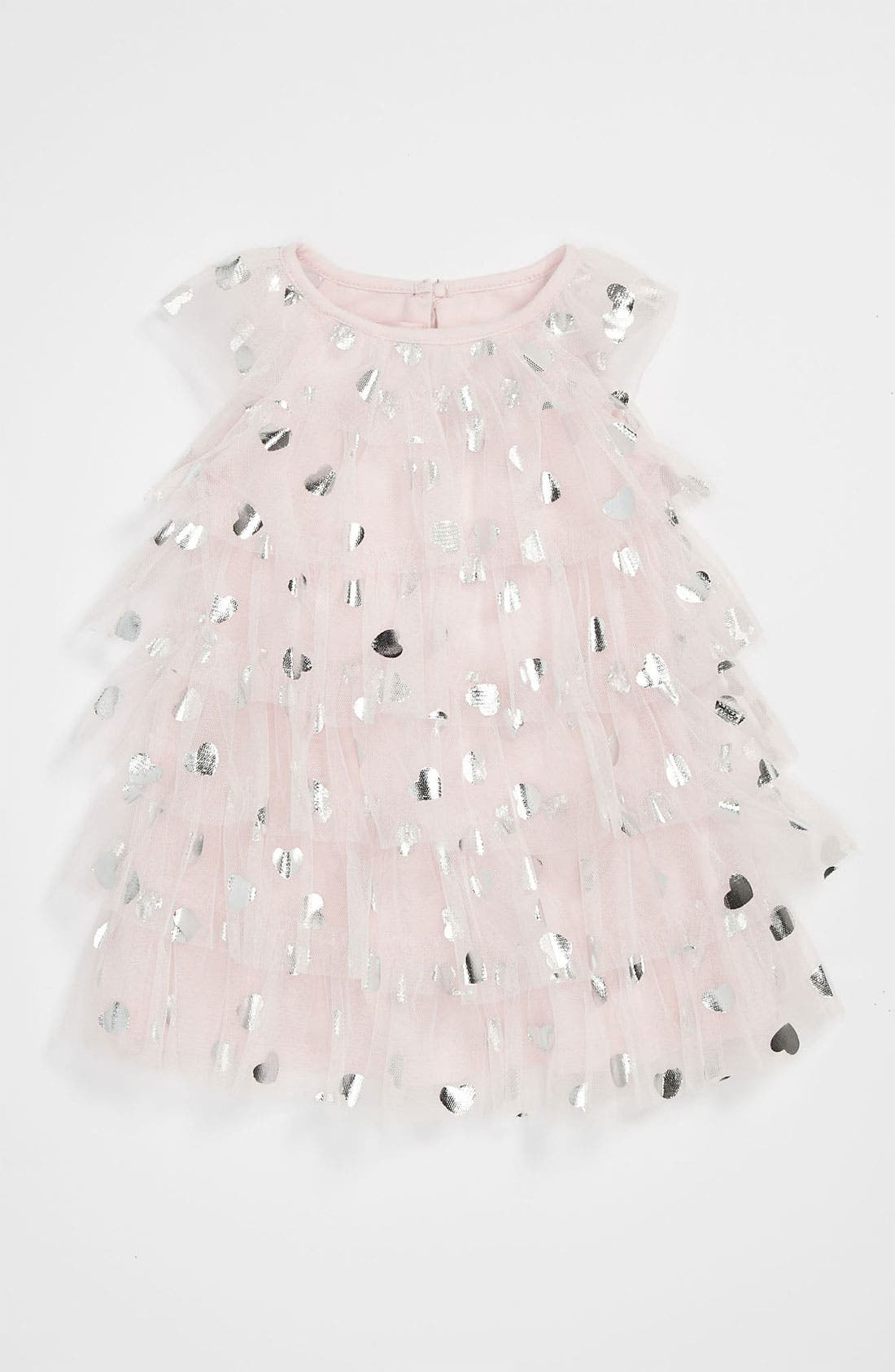 Alternate Image 1 Selected - Biscotti 'Follow Your Heart' Dress (Baby Girls)