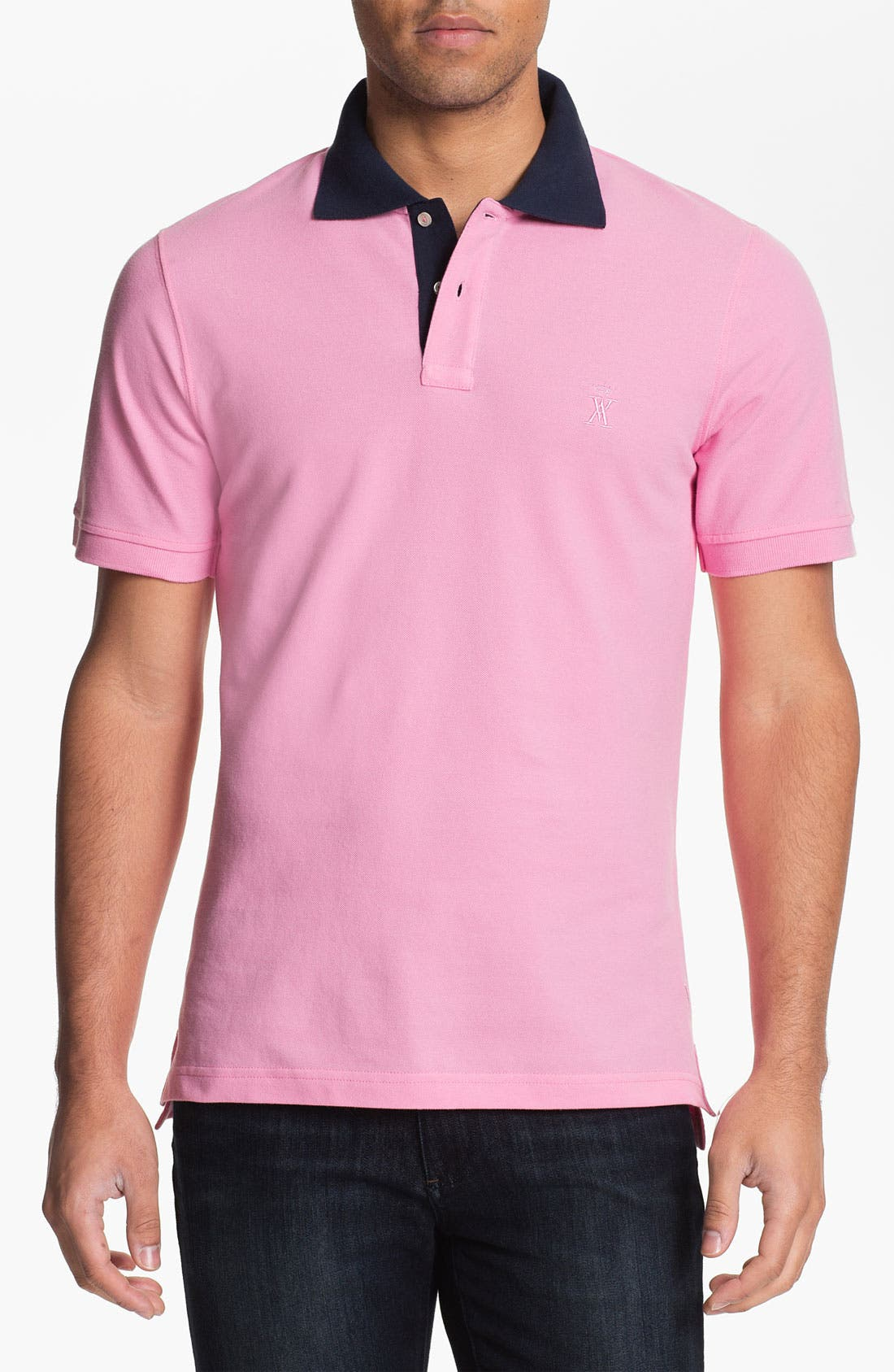 Alternate Image 1 Selected - Vicomte A. Trim Fit Polo