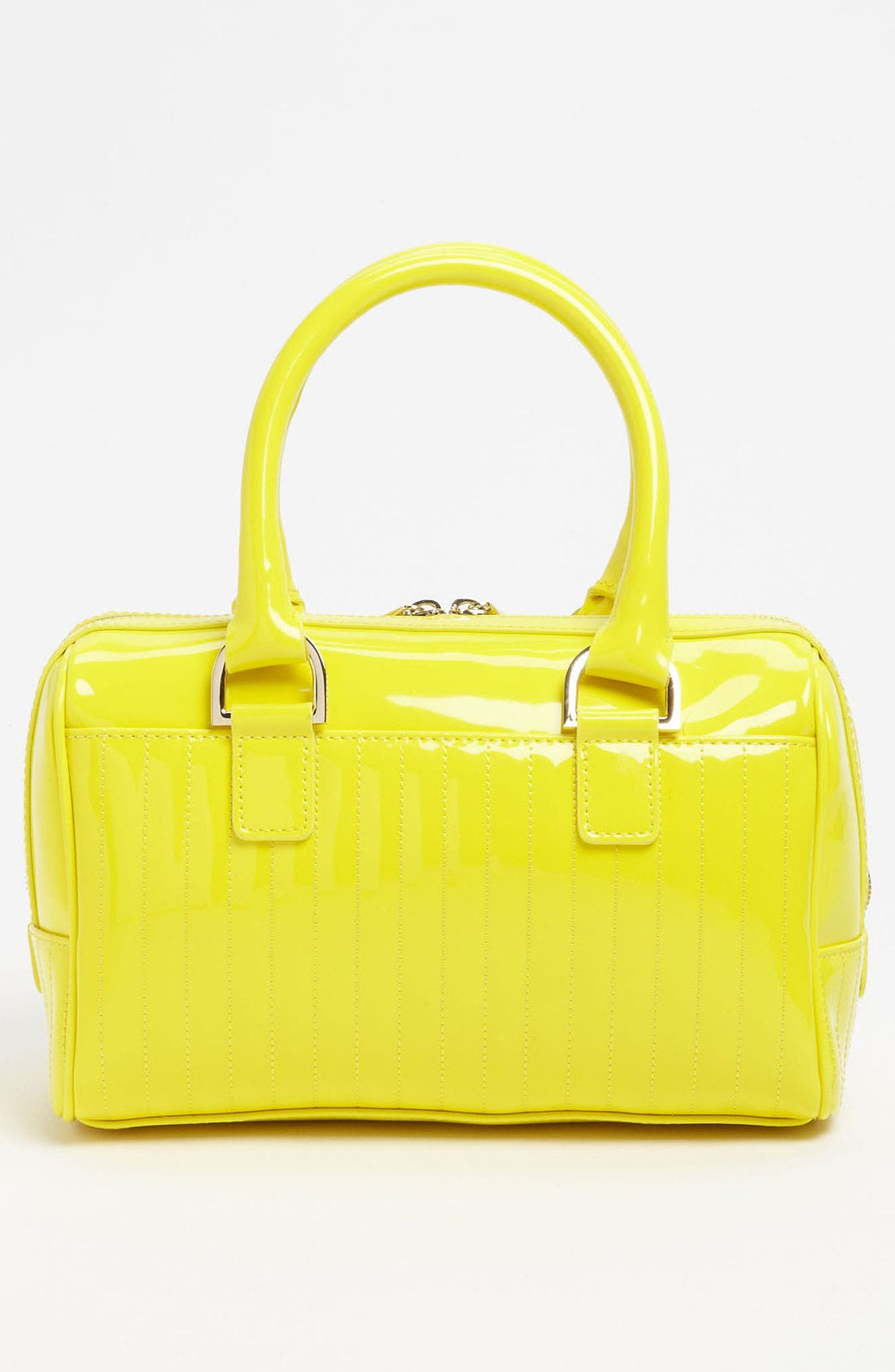 Alternate Image 4  - Ted Baker London 'Enamel - Mini' Quilted Bowler Bag