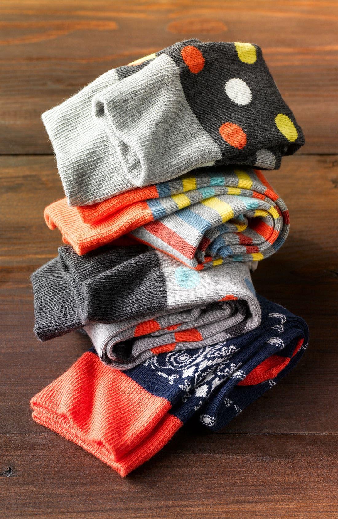 Alternate Image 3  - Pact Stripe Pattern Socks