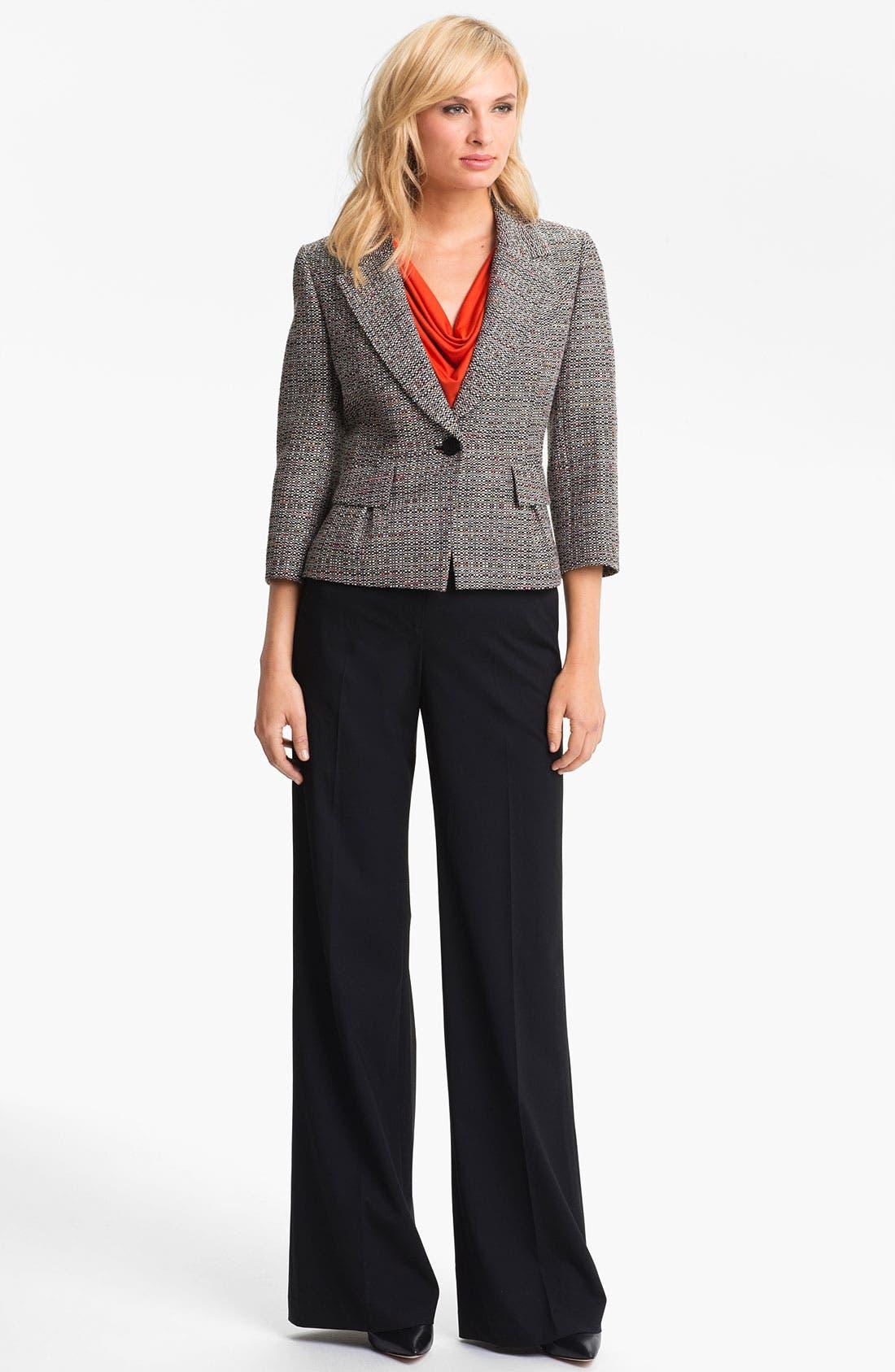 Alternate Image 2  - Classiques Entier® Drape Neck Jersey Top