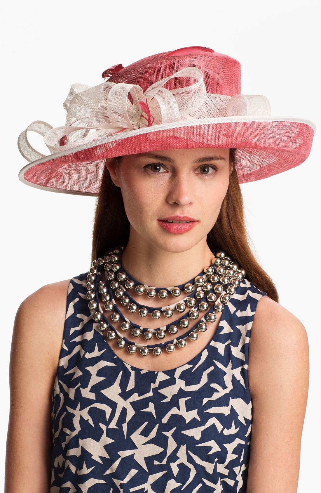 Alternate Image 1 Selected - Nordstrom 'Large' Up Brim Derby Hat