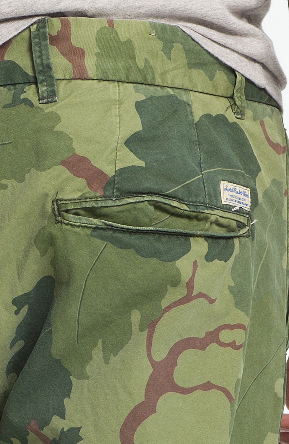 Alternate Image 3  - Scotch & Soda 'Bowie' Camo Print Slim Straight Leg Chinos