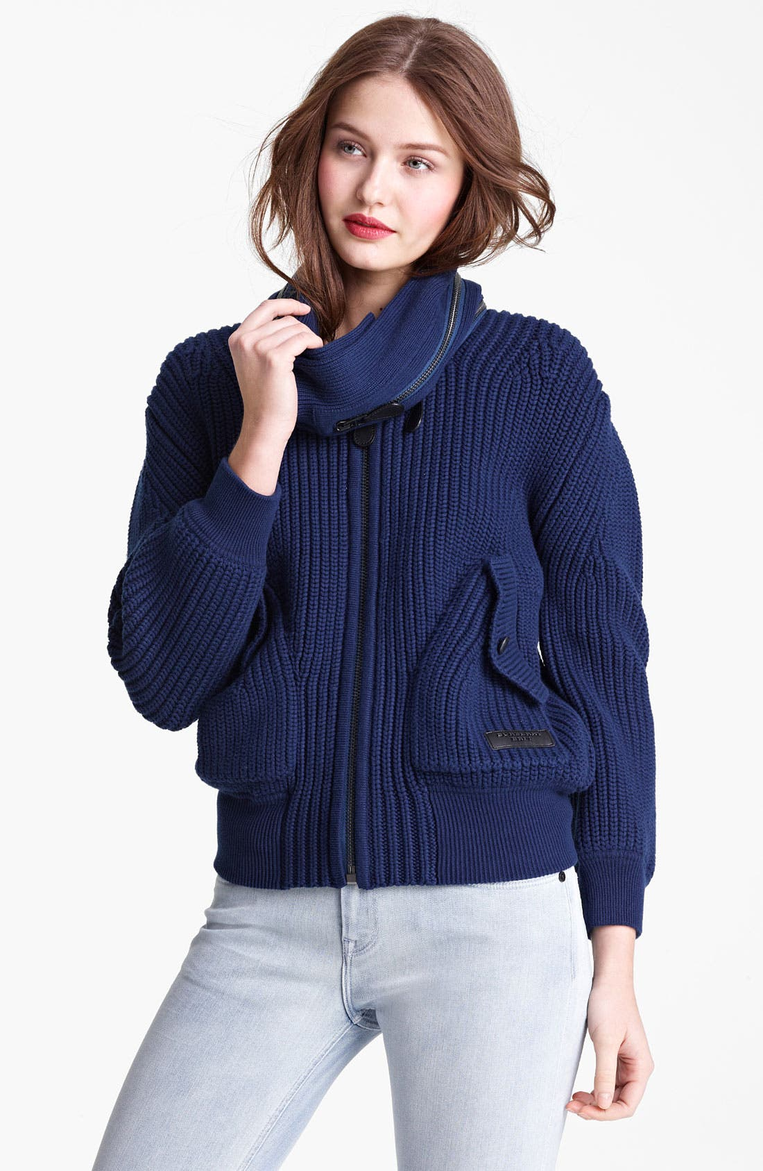 Alternate Image 1 Selected - Burberry Brit Knit Cardigan
