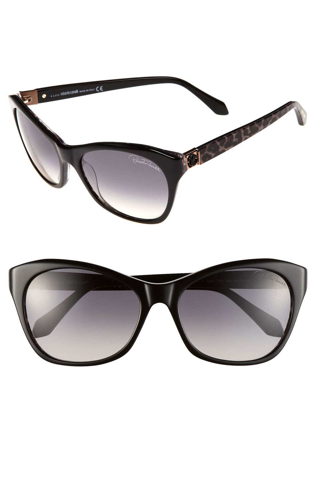 Alternate Image 1 Selected - Roberto Cavalli 58mm Sunglasses