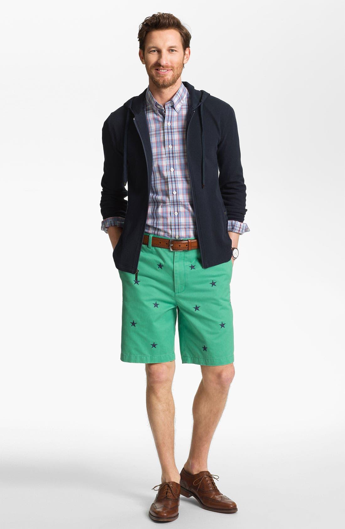 Alternate Image 2  - Vineyard Vines Regular Fit Embroidered Shorts