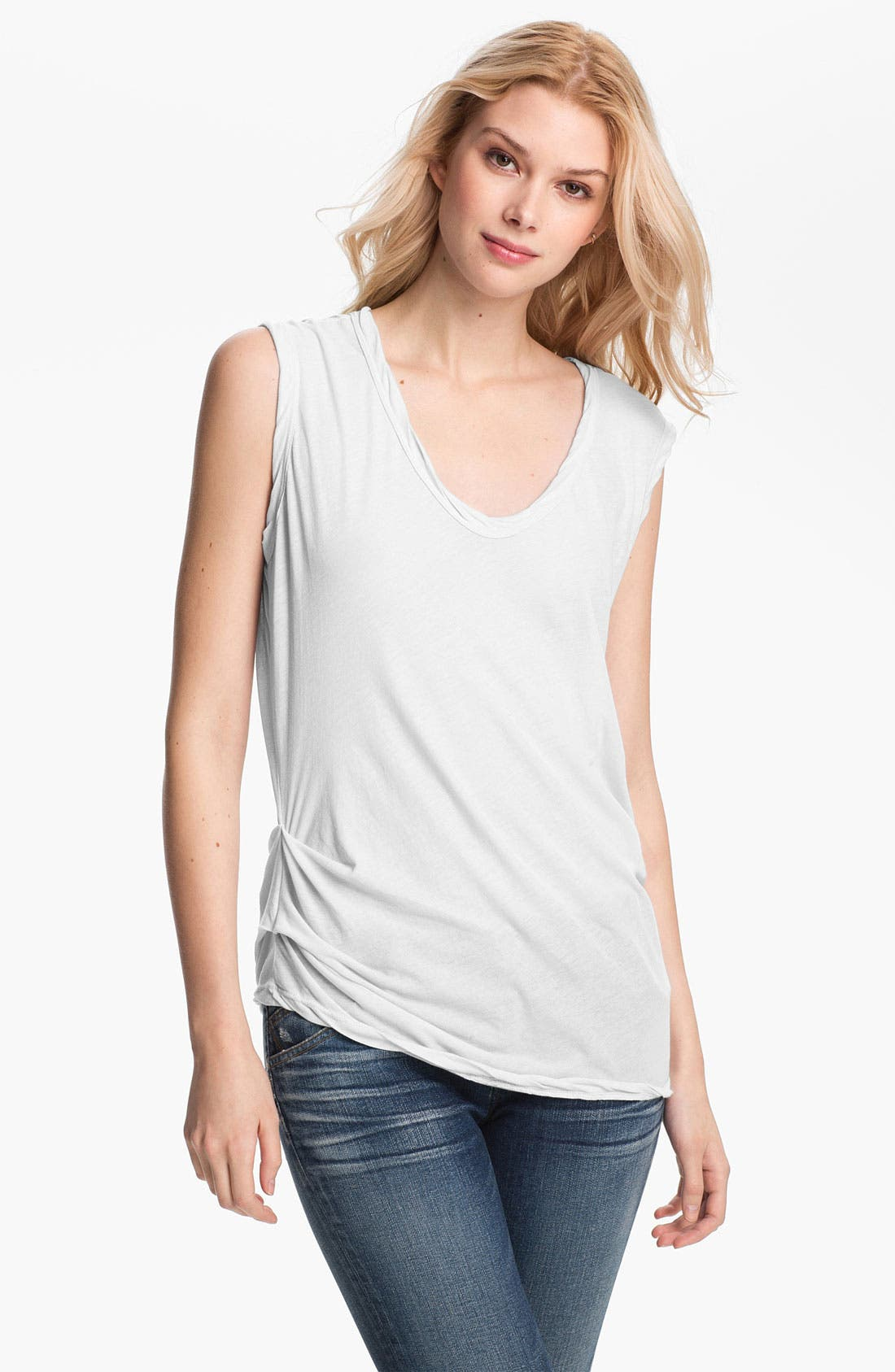 Main Image - James Perse Asymmetrical Shell Top