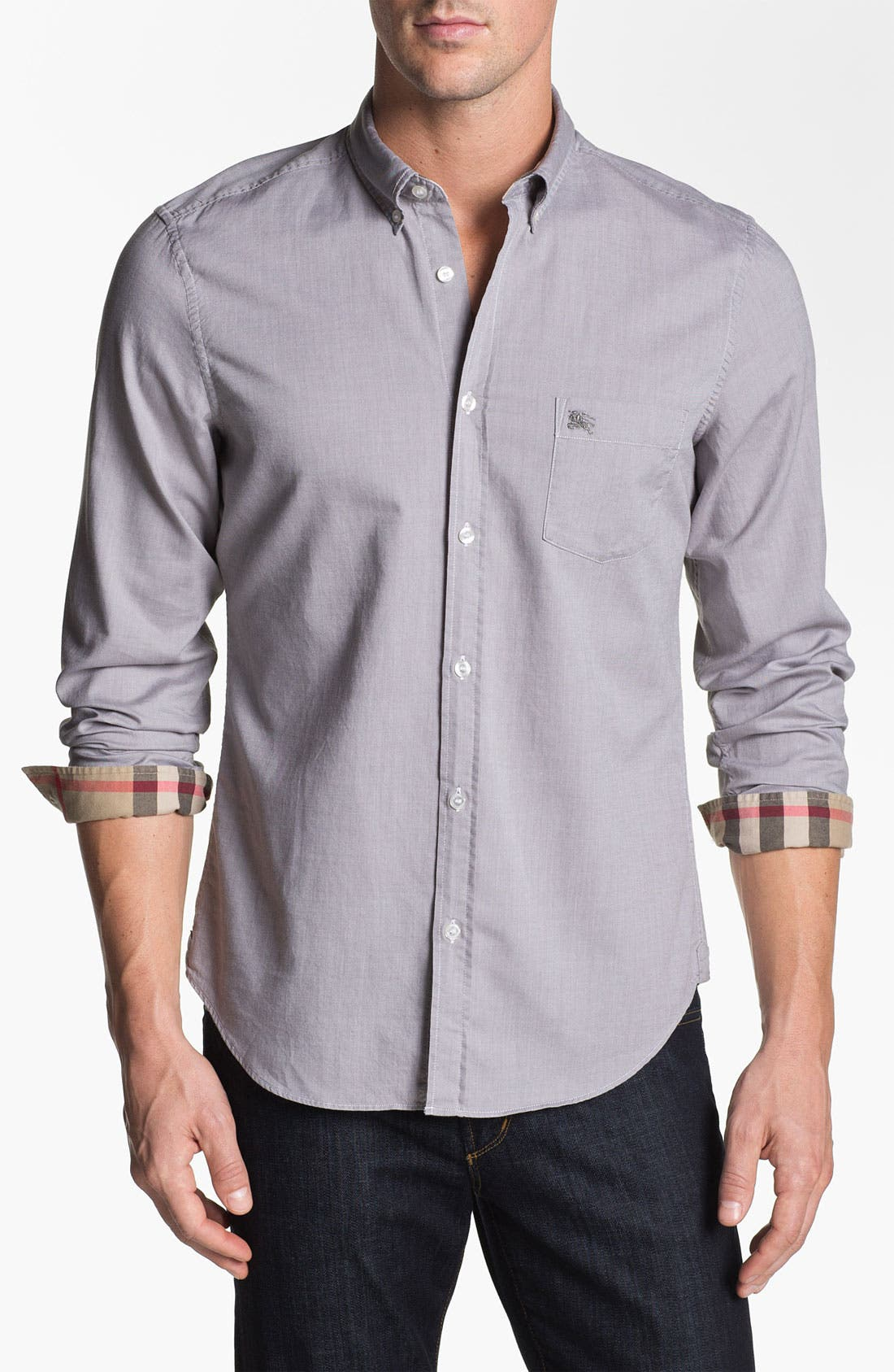 Main Image - Burberry Brit 'Fred' Button Down Sport Shirt