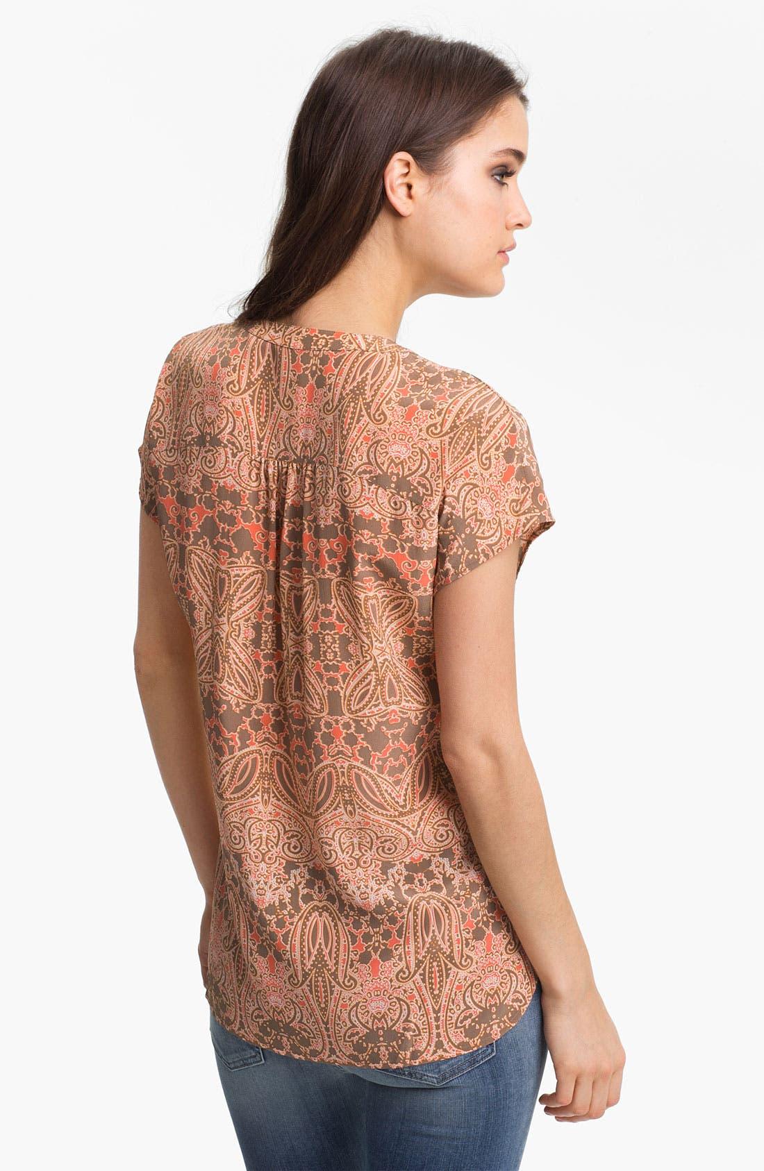 Alternate Image 2  - Hinge® Silk Blouse