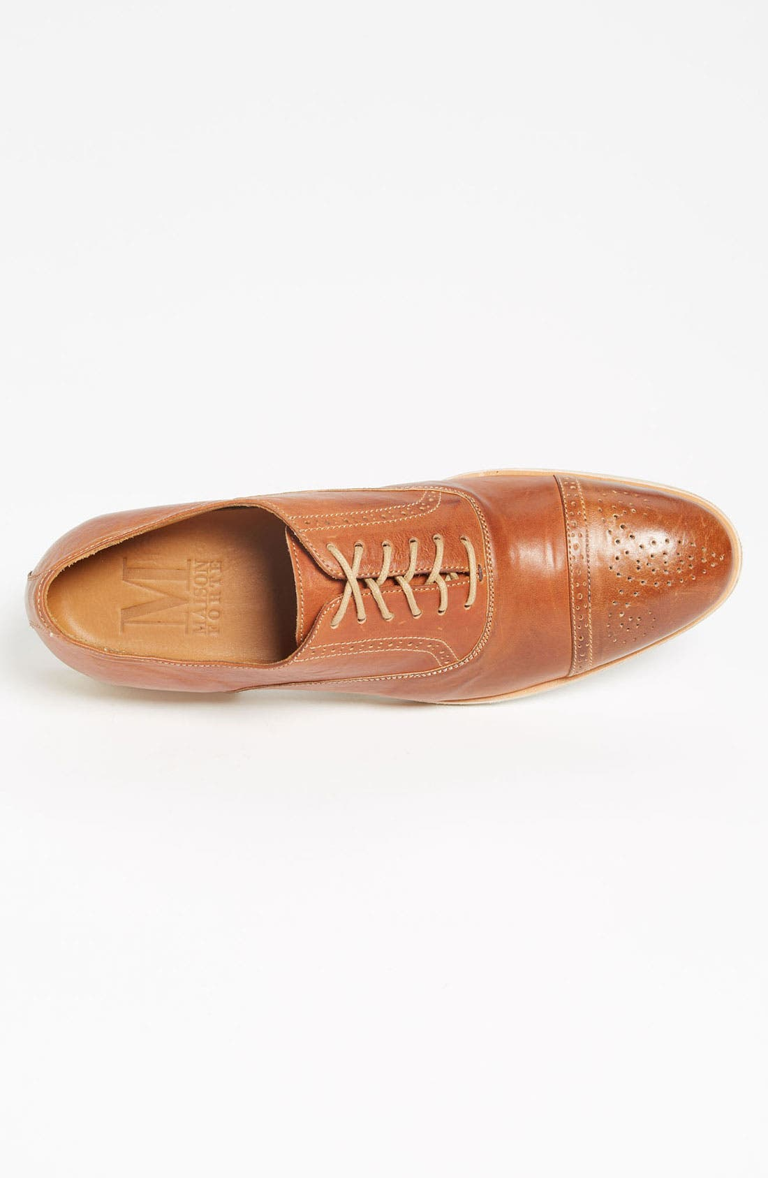 Alternate Image 3  - Maison Forte 'Hyeres' Cap Toe Oxford