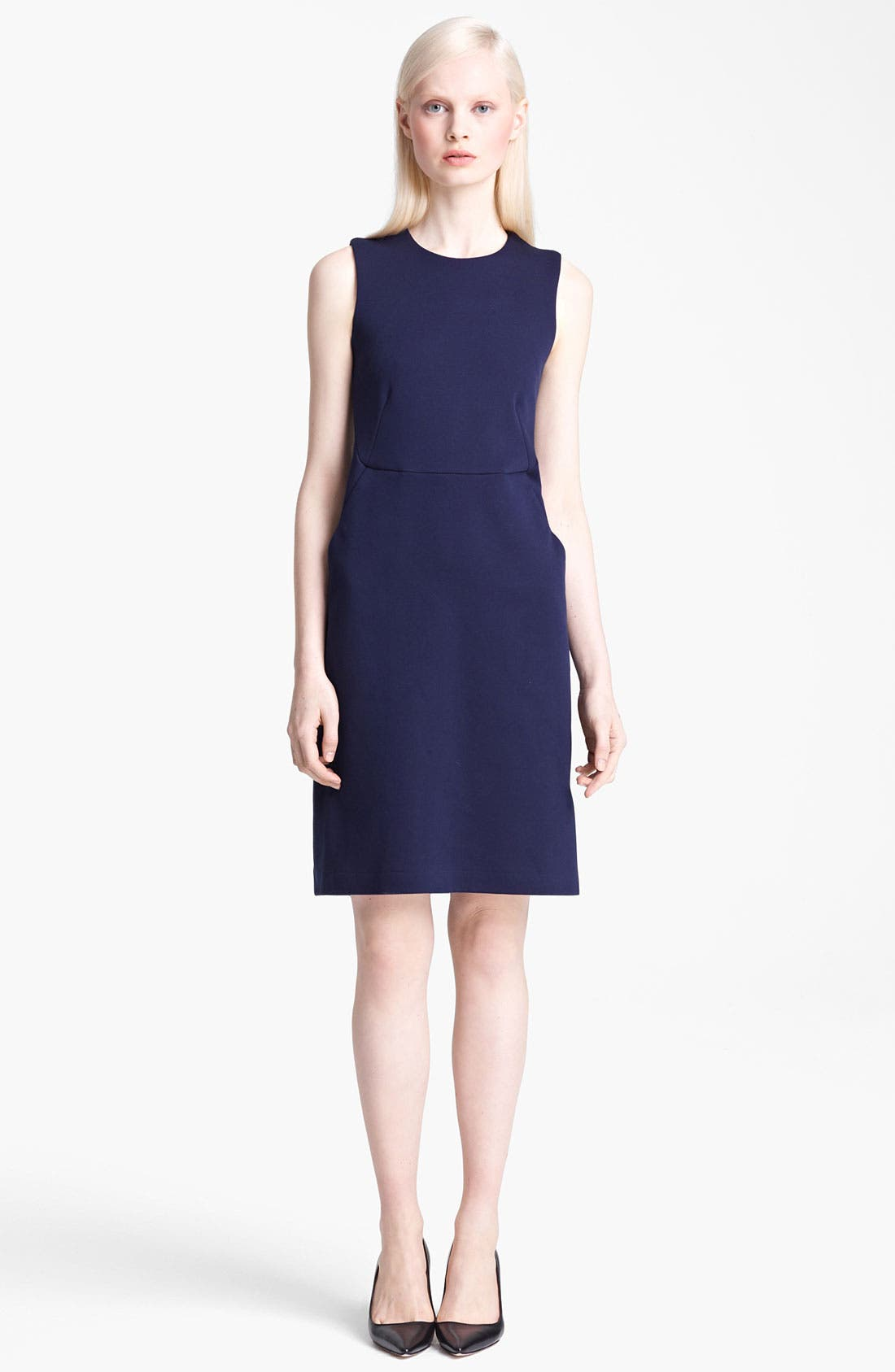 Main Image - Jil Sander Japanese Jersey Dress