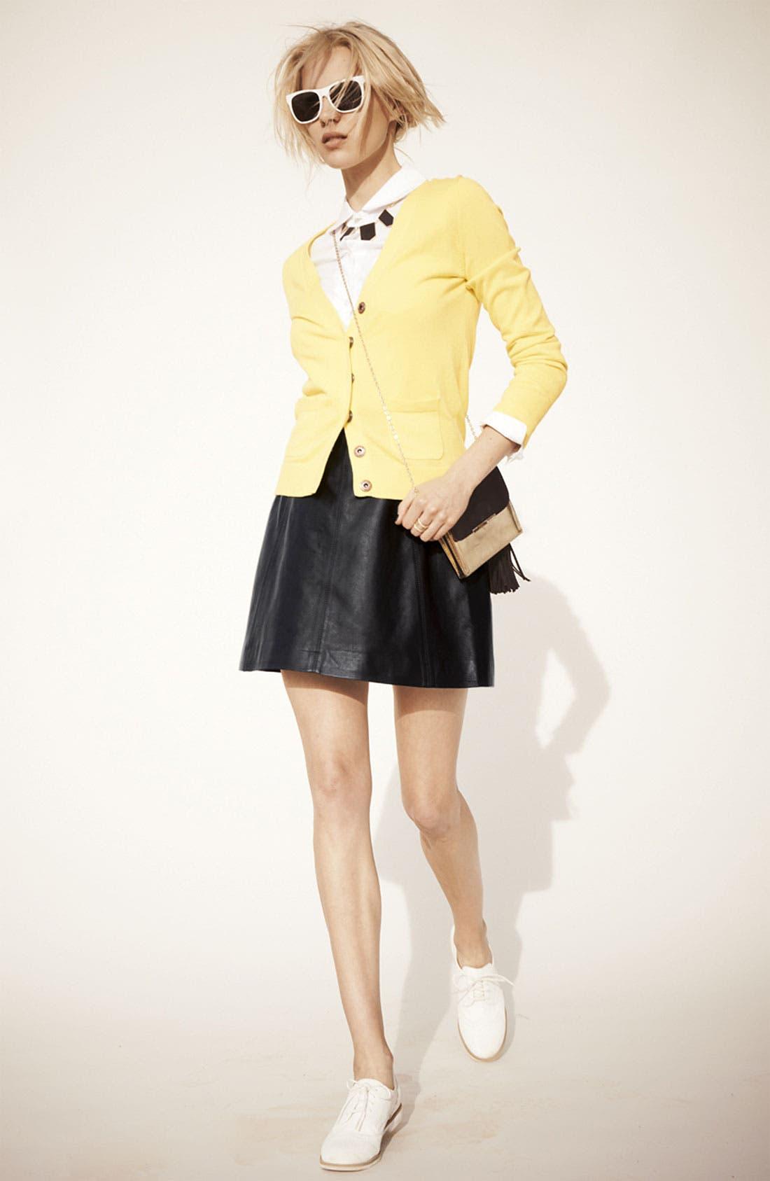 Alternate Image 6  - MARC BY MARC JACOBS 'Jett' Leather Skirt