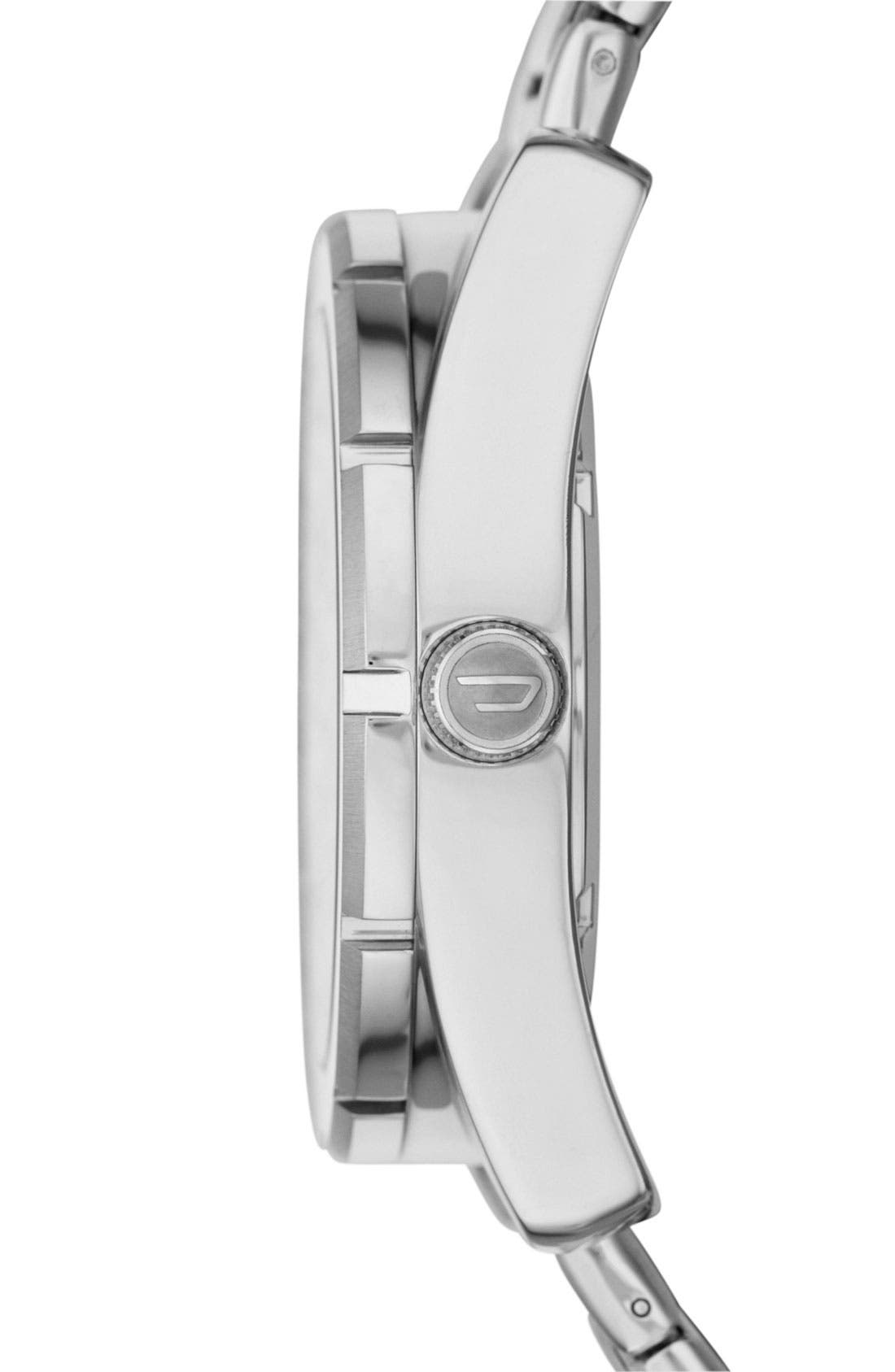 Alternate Image 2  - DIESEL® 'Good Company' Bracelet Watch, 44mm