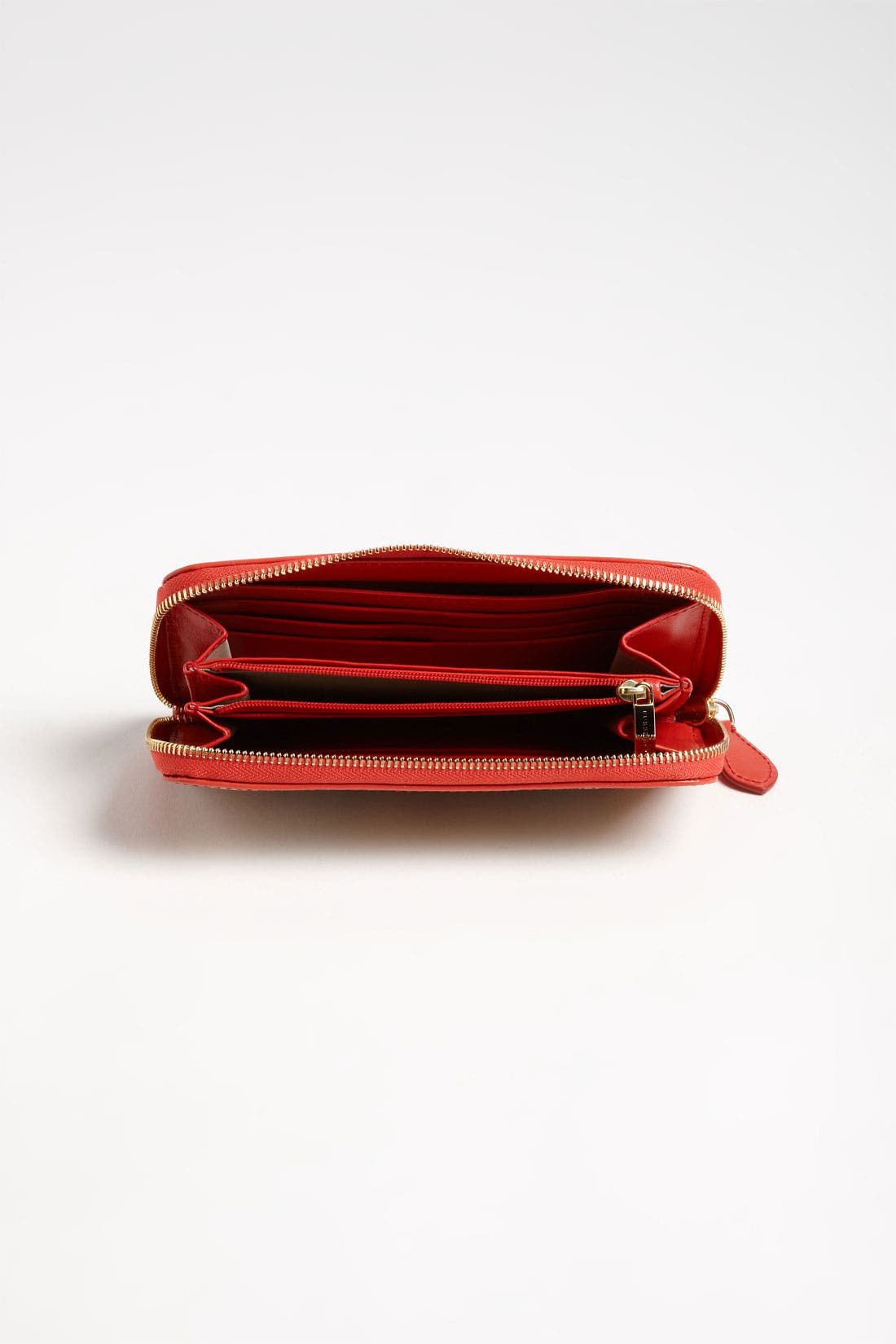 Alternate Image 3  - Burberry 'Haymarket Check' Zip Around Wallet