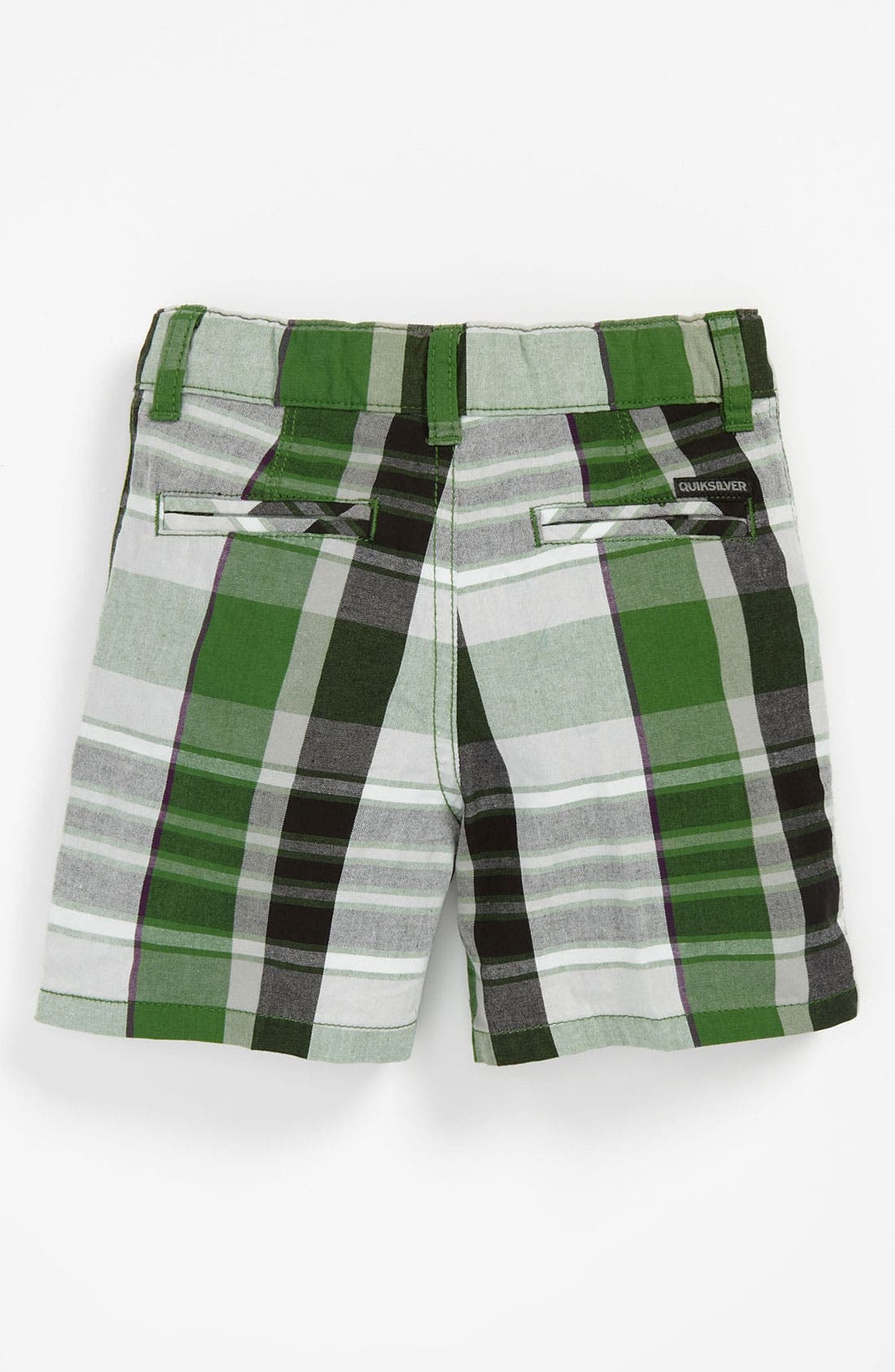 Alternate Image 2  - Quiksilver 'Nectar' Plaid Shorts (Baby)