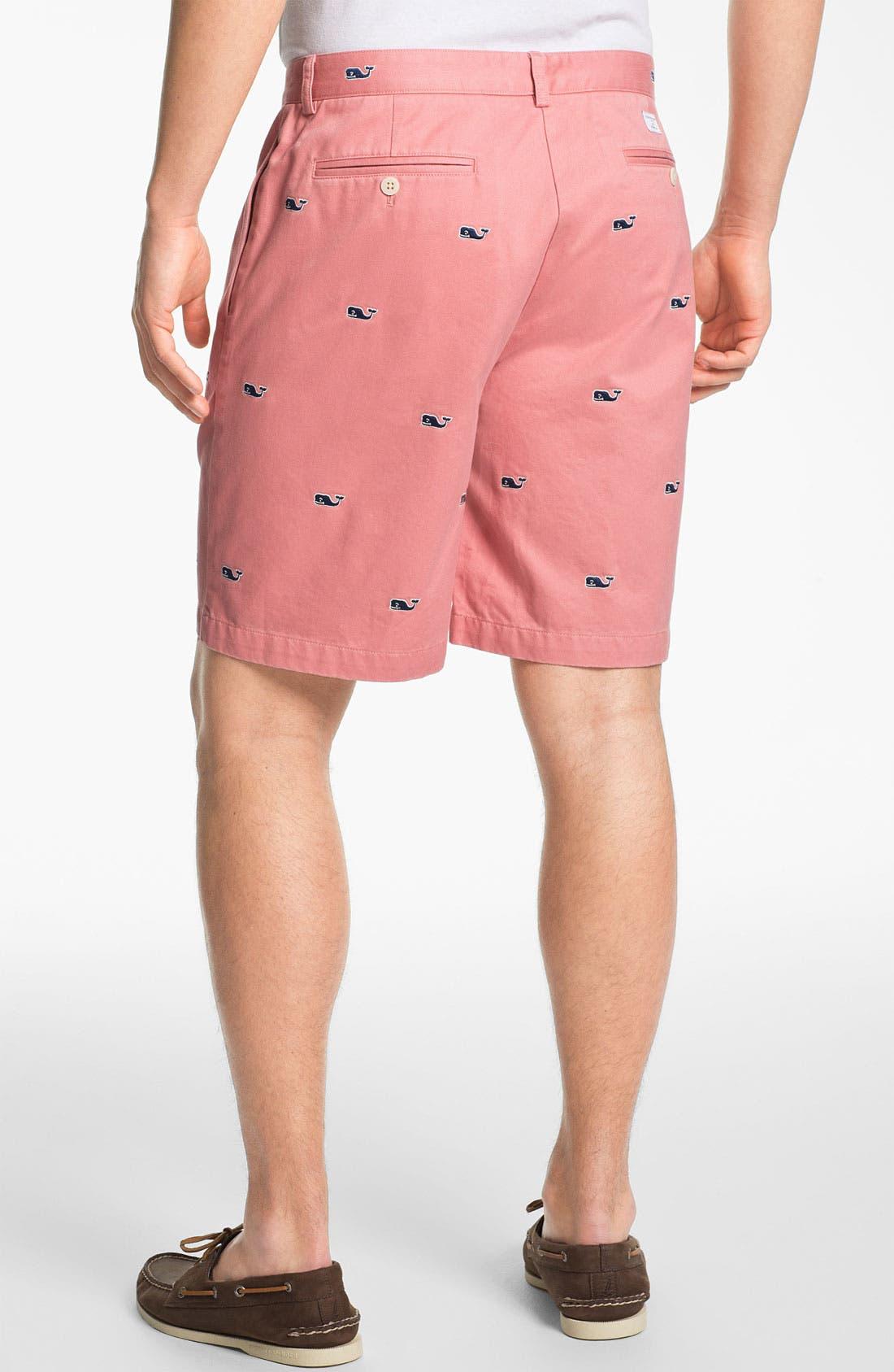 Alternate Image 2  - Vineyard Vines Flat Front Shorts