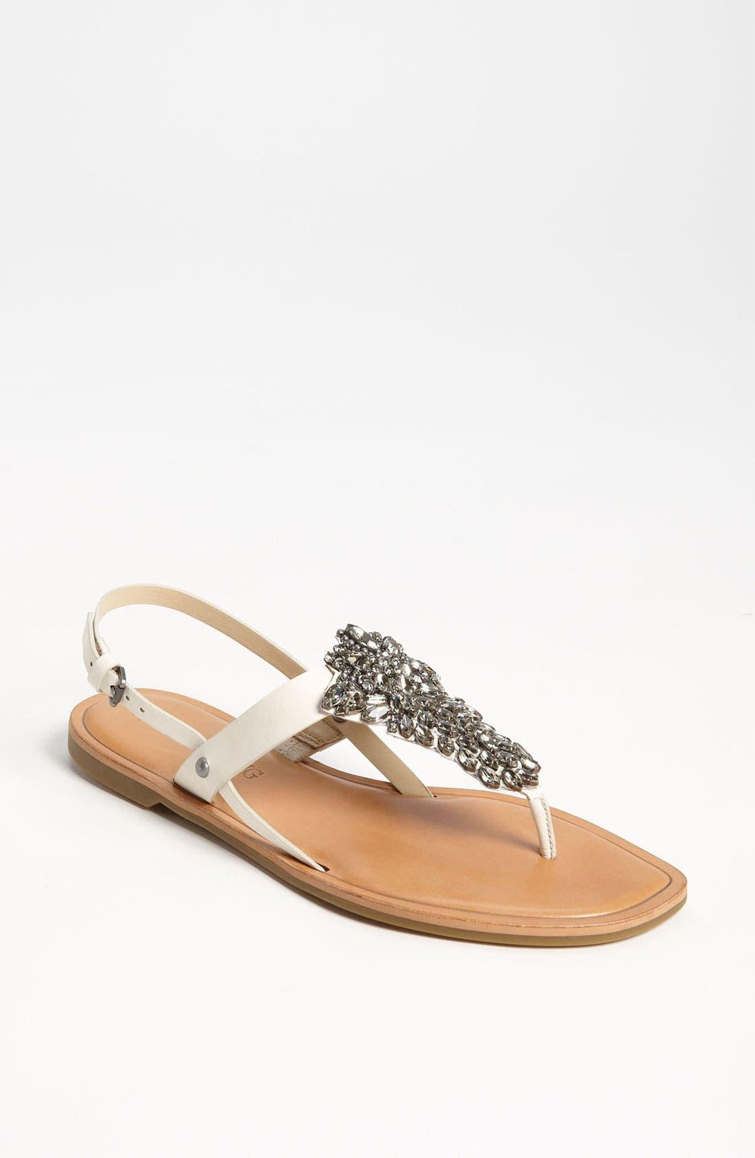 Alternate Image 1 Selected - Vera Wang Footwear 'Avy' Sandal (Online Only)